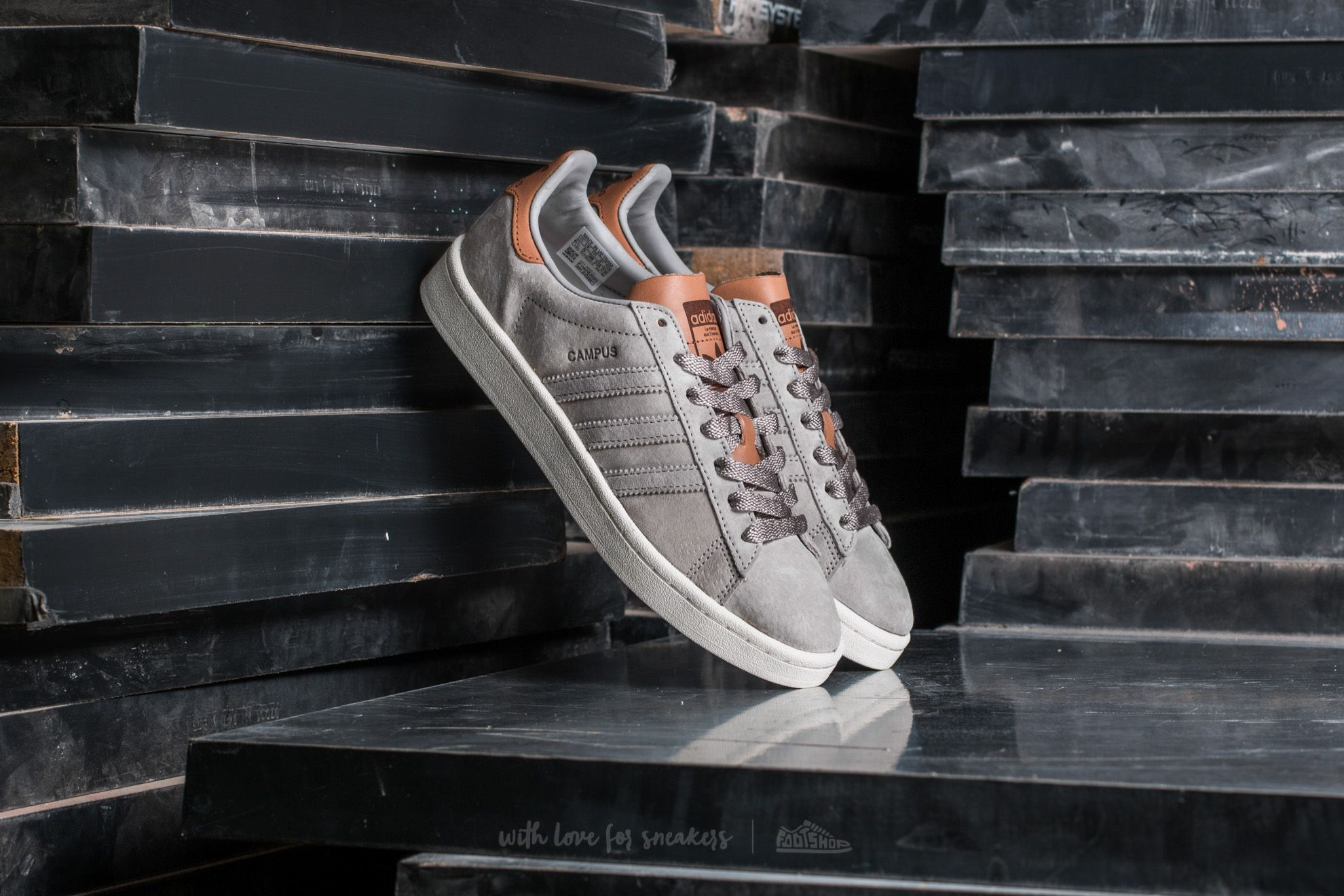 adidas Campus W Clear Granite/ Clear Granite/ Supplier Footshop – FR