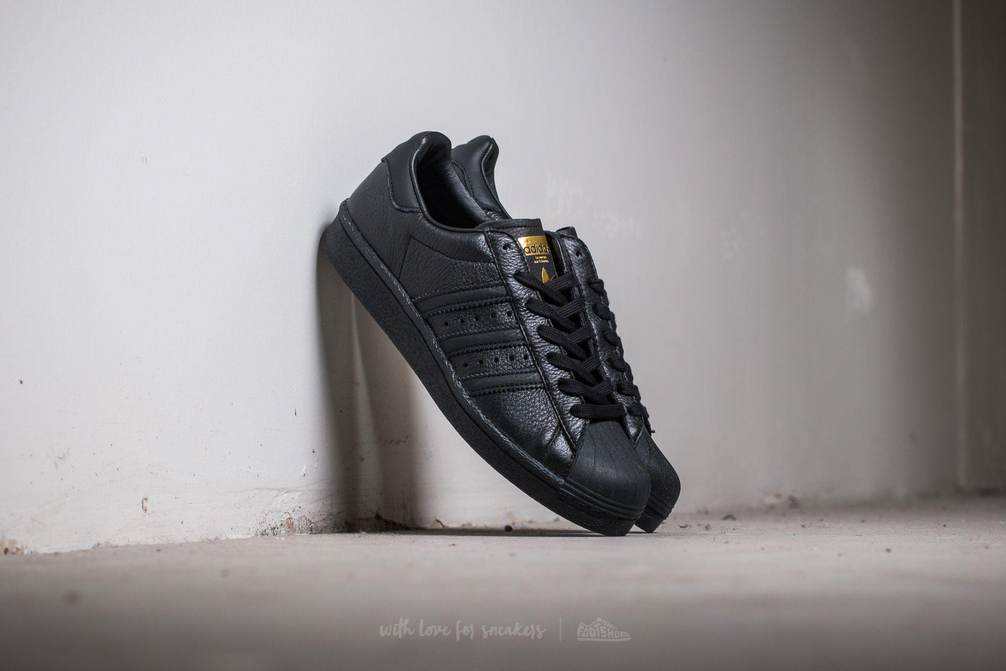 adidas Superstar Core Black/ Core Black/ Gold Metallic Footshop – FR