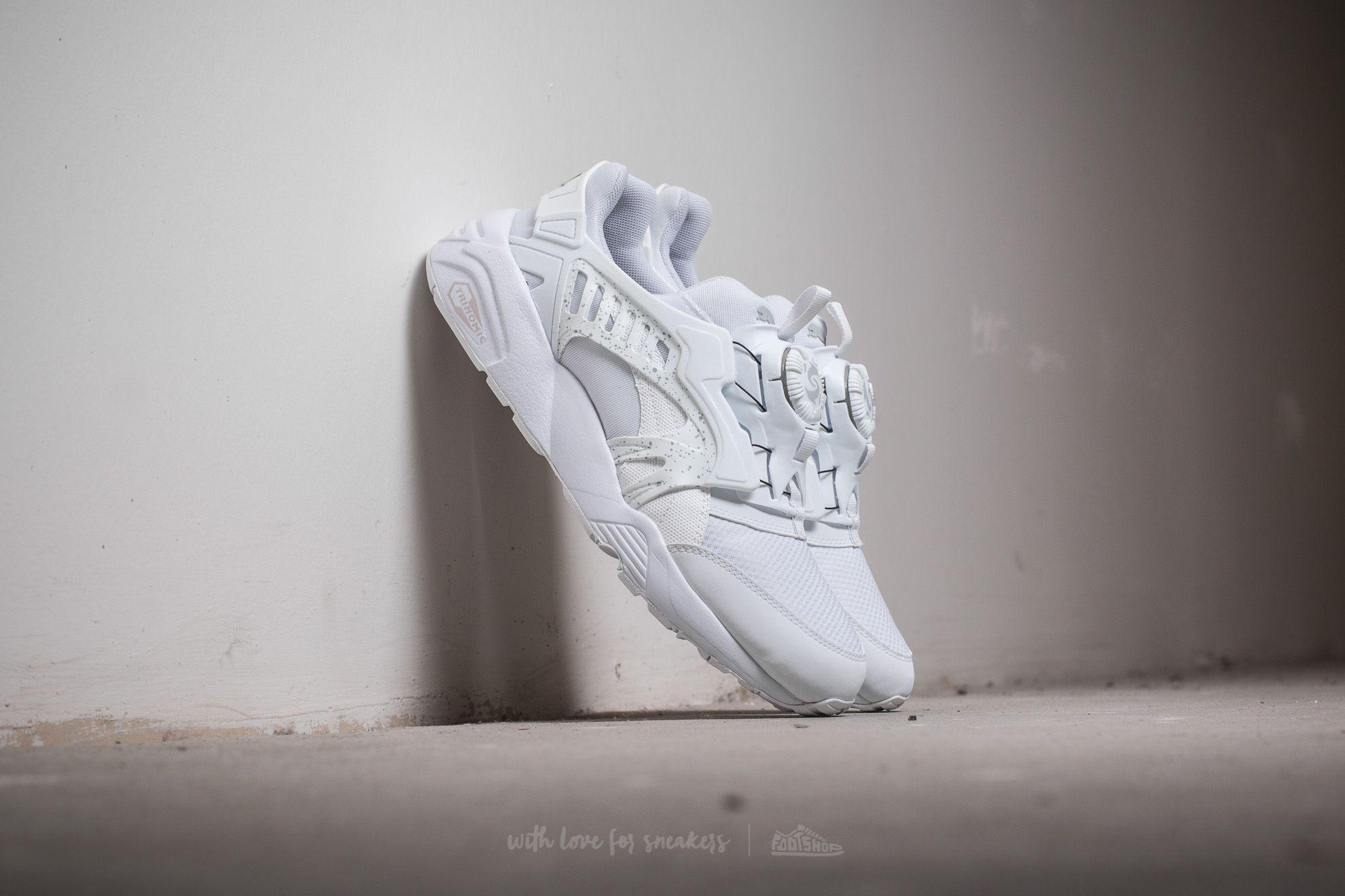 Puma Disc Blaze White- White- White Footshop – FR