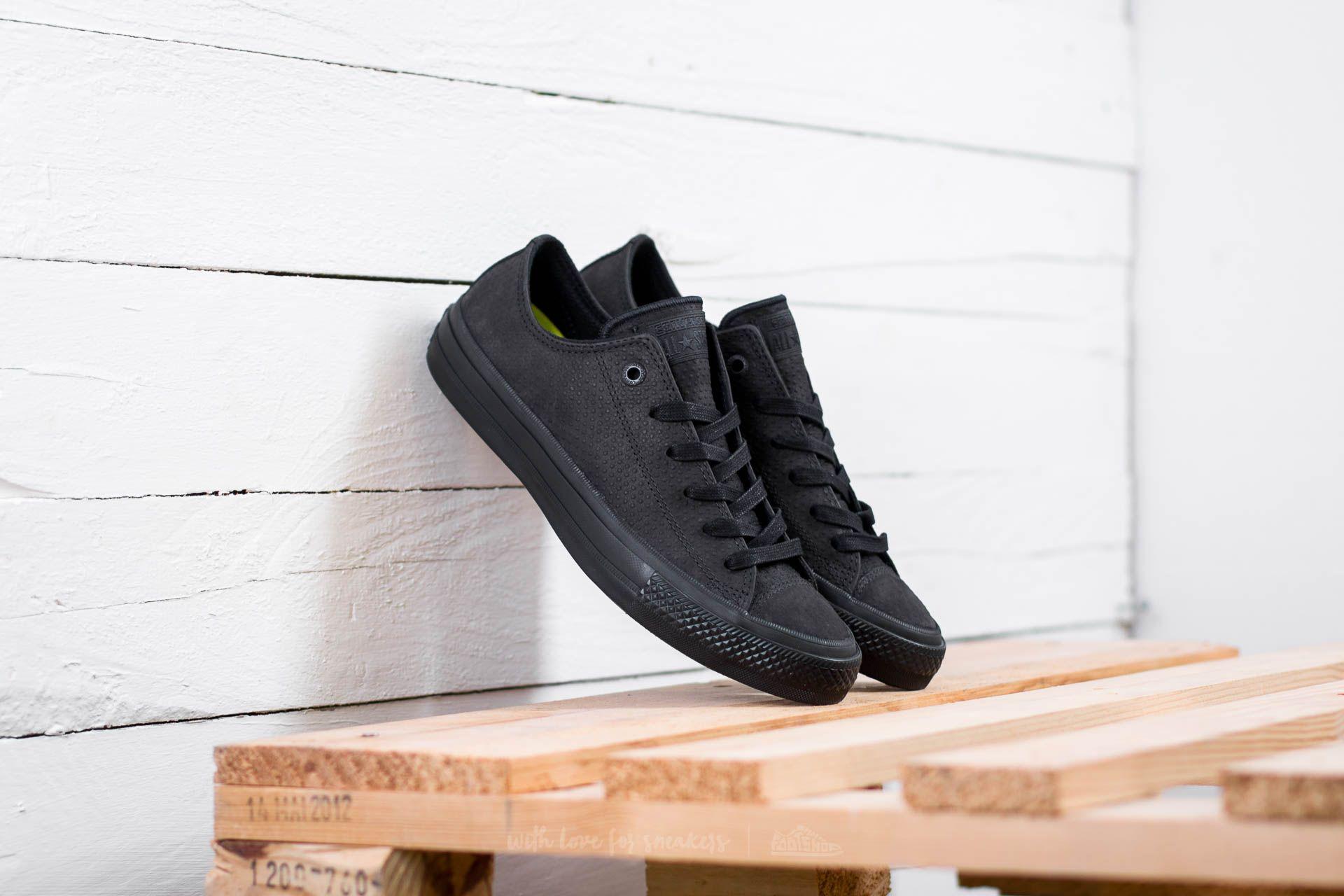 Converse Chuck Taylor AS II OX Black/ Black/ Gum Footshop – FR