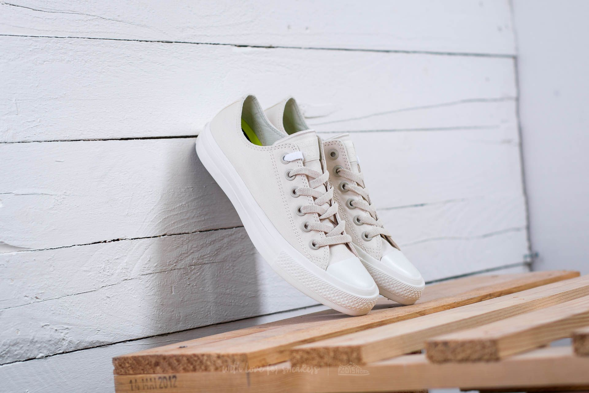 Converse Chuck Taylor AS II OX Parchment/ Navy/ White Footshop – FR