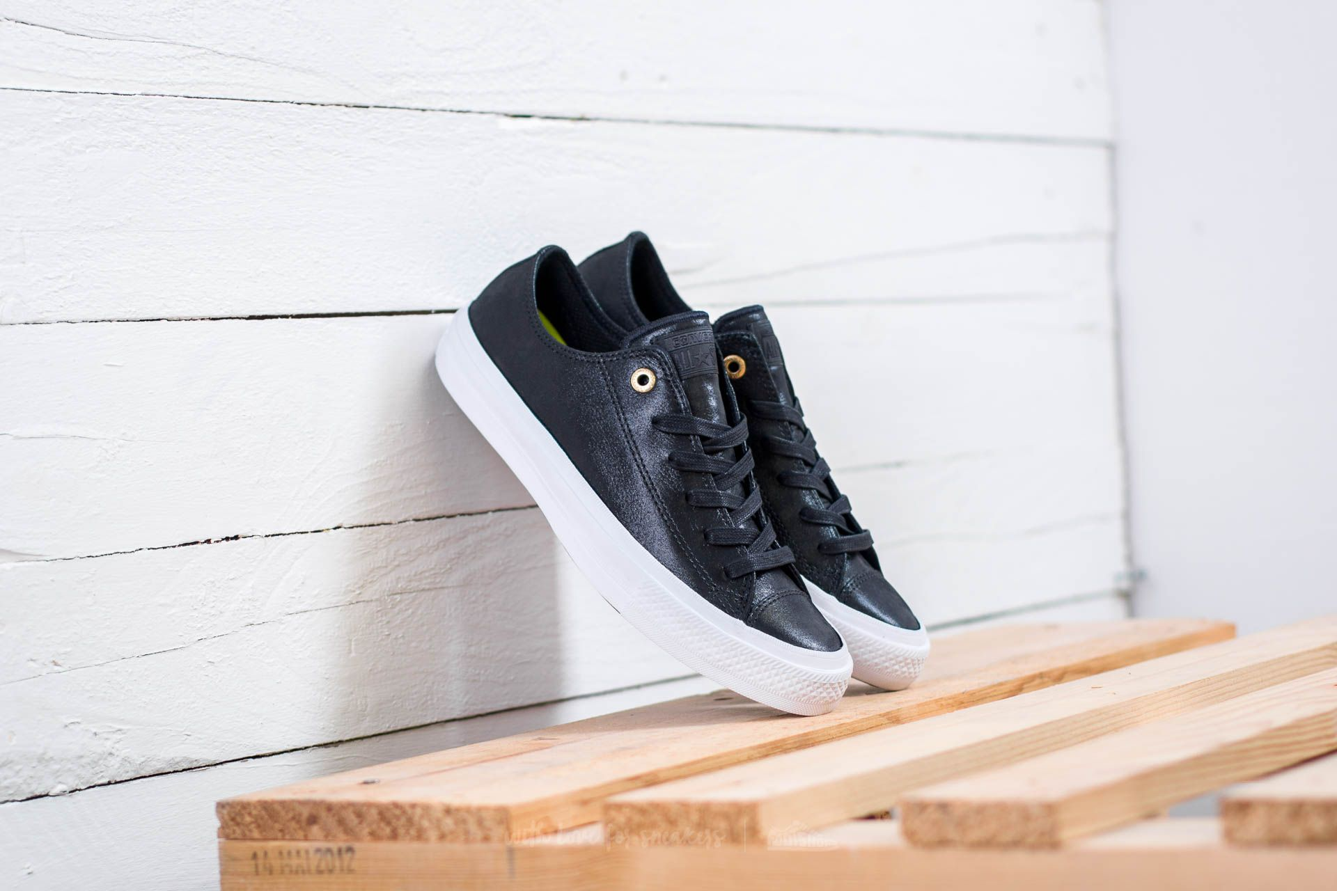 Converse Chuck Taylor All Star II OX Black/ Black/ White Footshop – FR