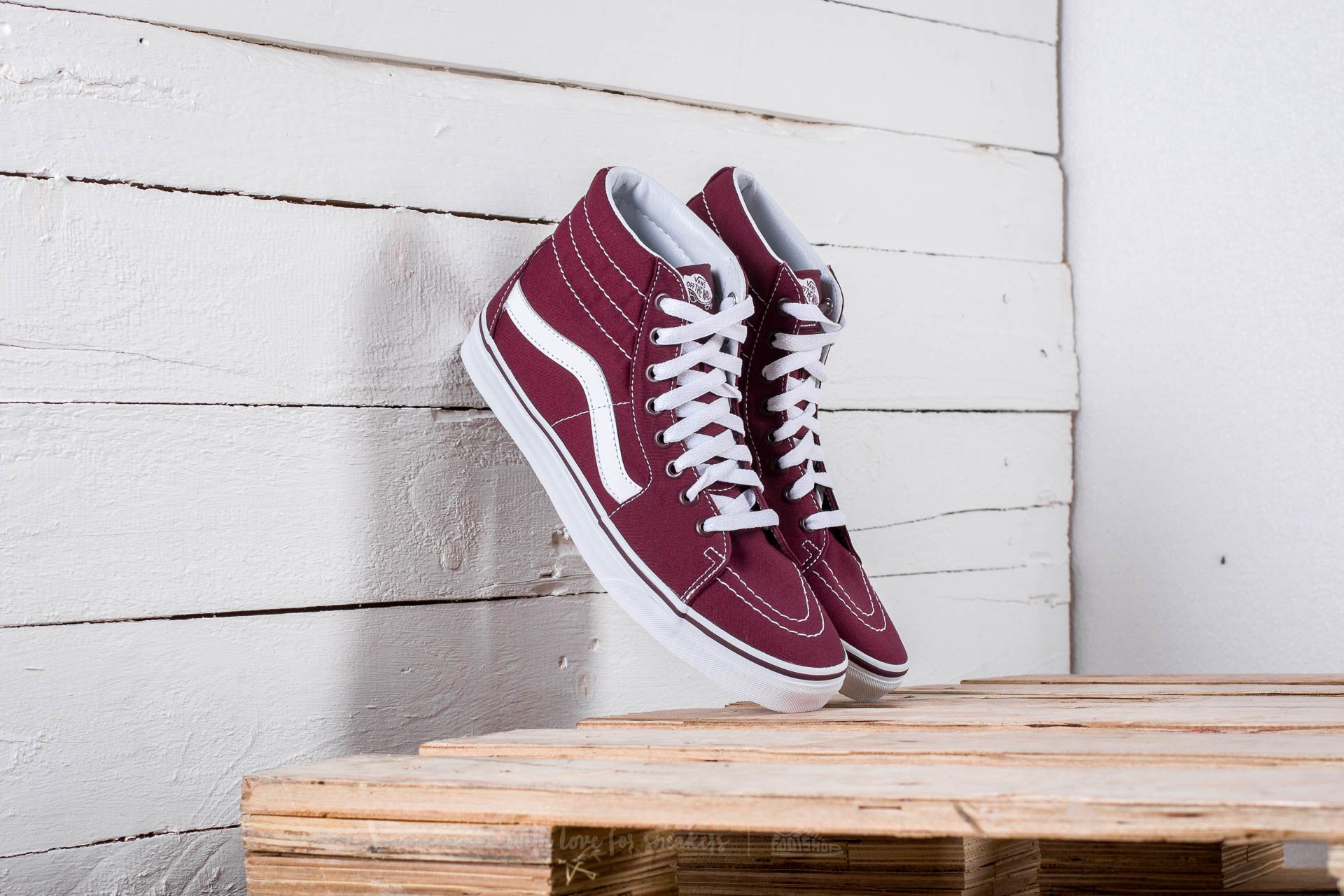 Vans Sk8-Hi (Canvas) Port Royale