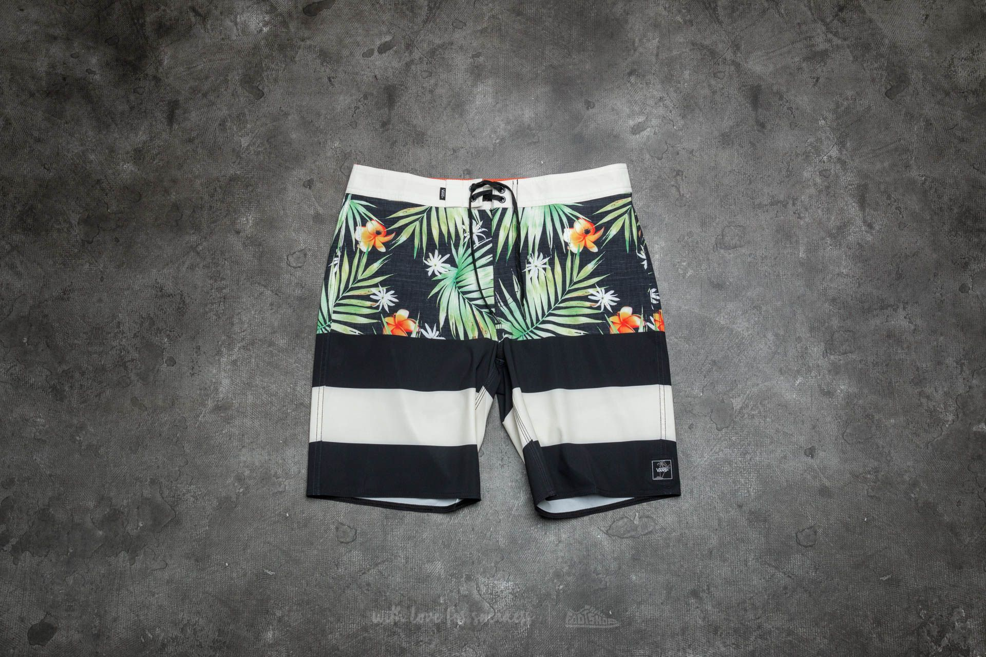 Vans Era Boardshort Black Decay Palm Footshop – FR