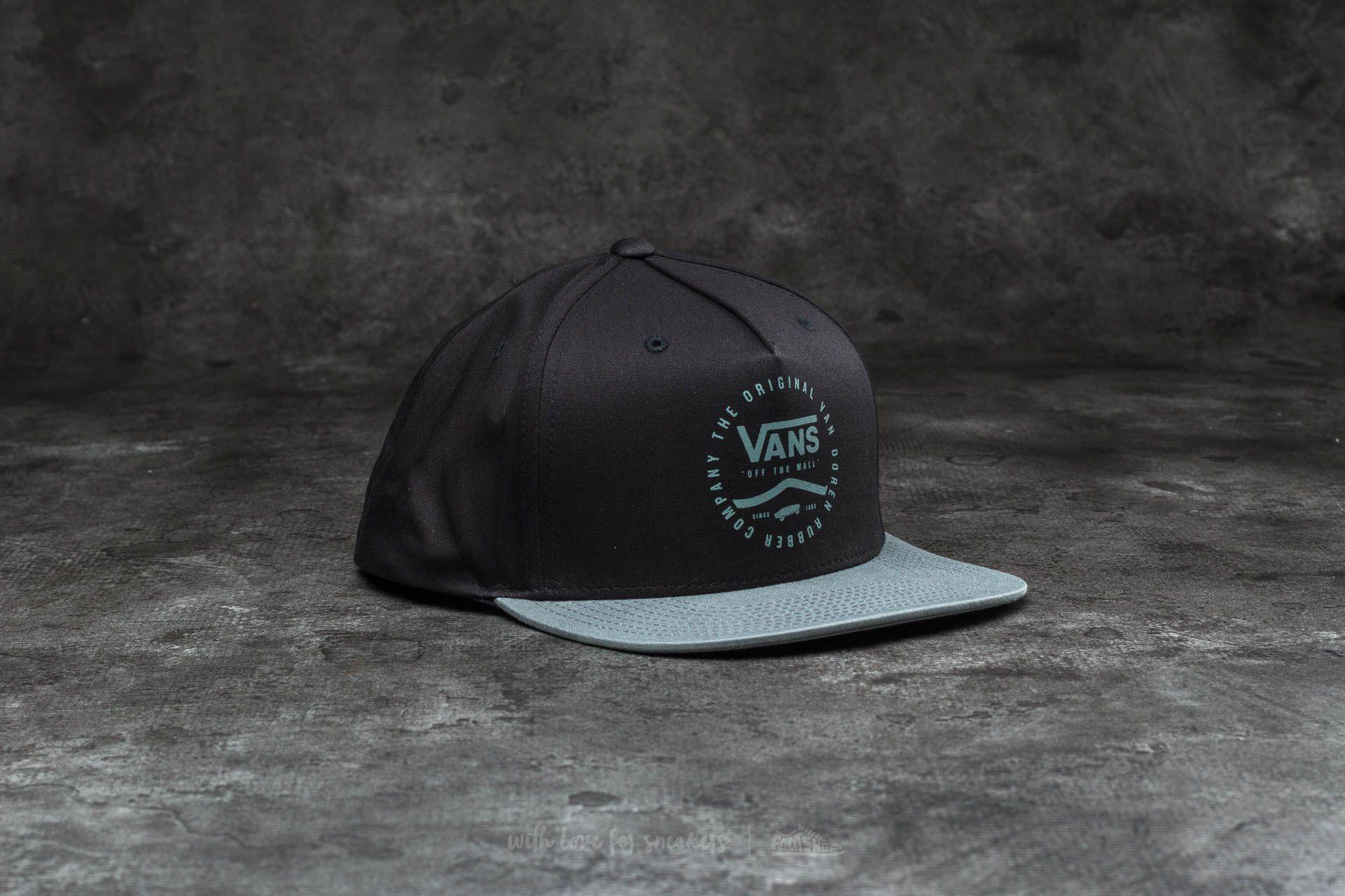 Vans Side Stripe Snapback Black Footshop – FR
