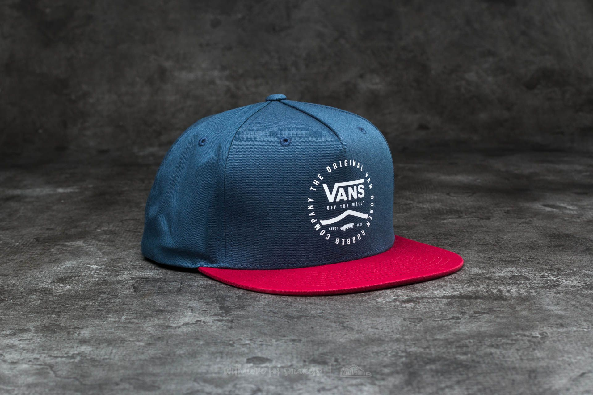 Vans Side Stripe Snapback Dress Blues-Rhubarb Footshop – FR