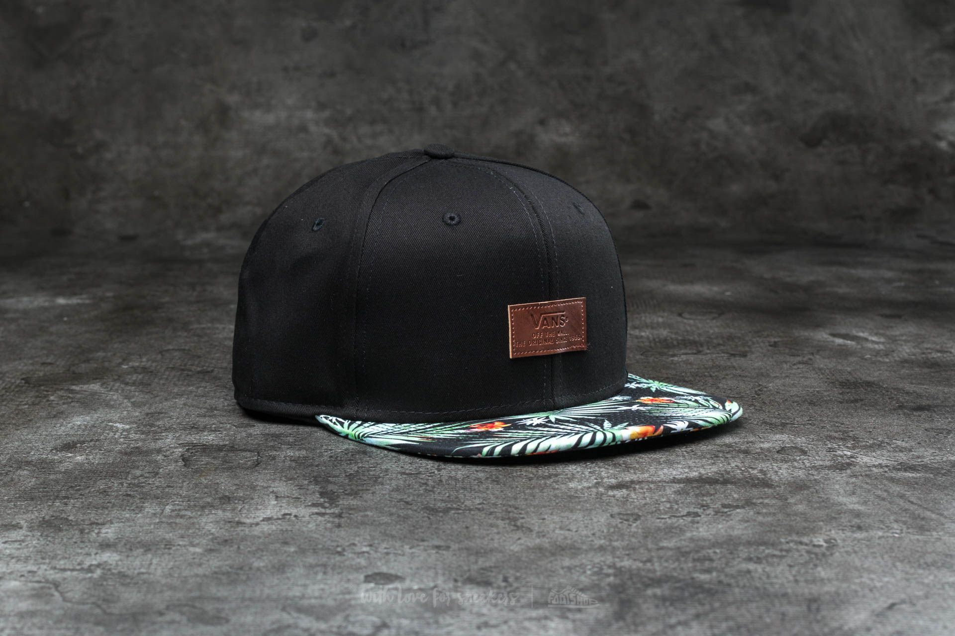 Vans Allover It Snapback Black Decay Palm Footshop – FR