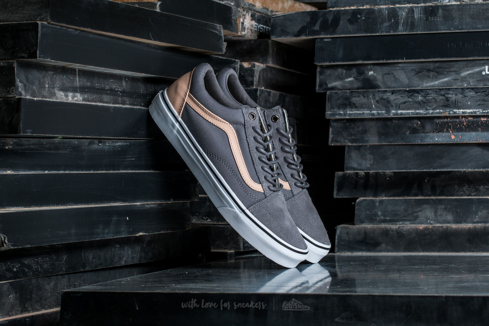 Vans Old Skool (Veggie Tan) Frost Gray/ True White Footshop – FR