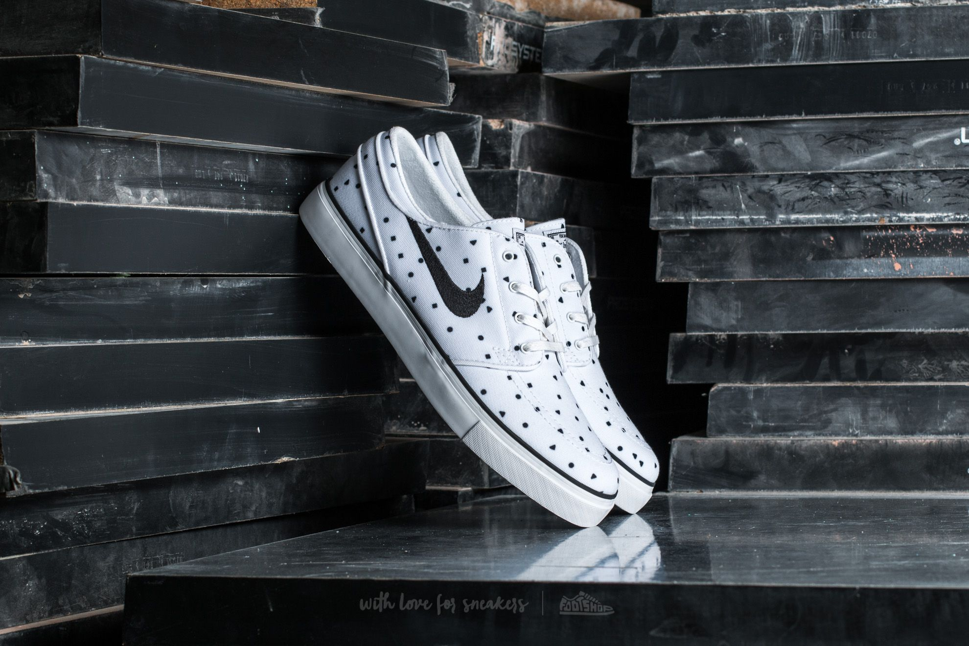 Nike Zoom Stefan Janoski Canvas Premium White/ Black Footshop – FR