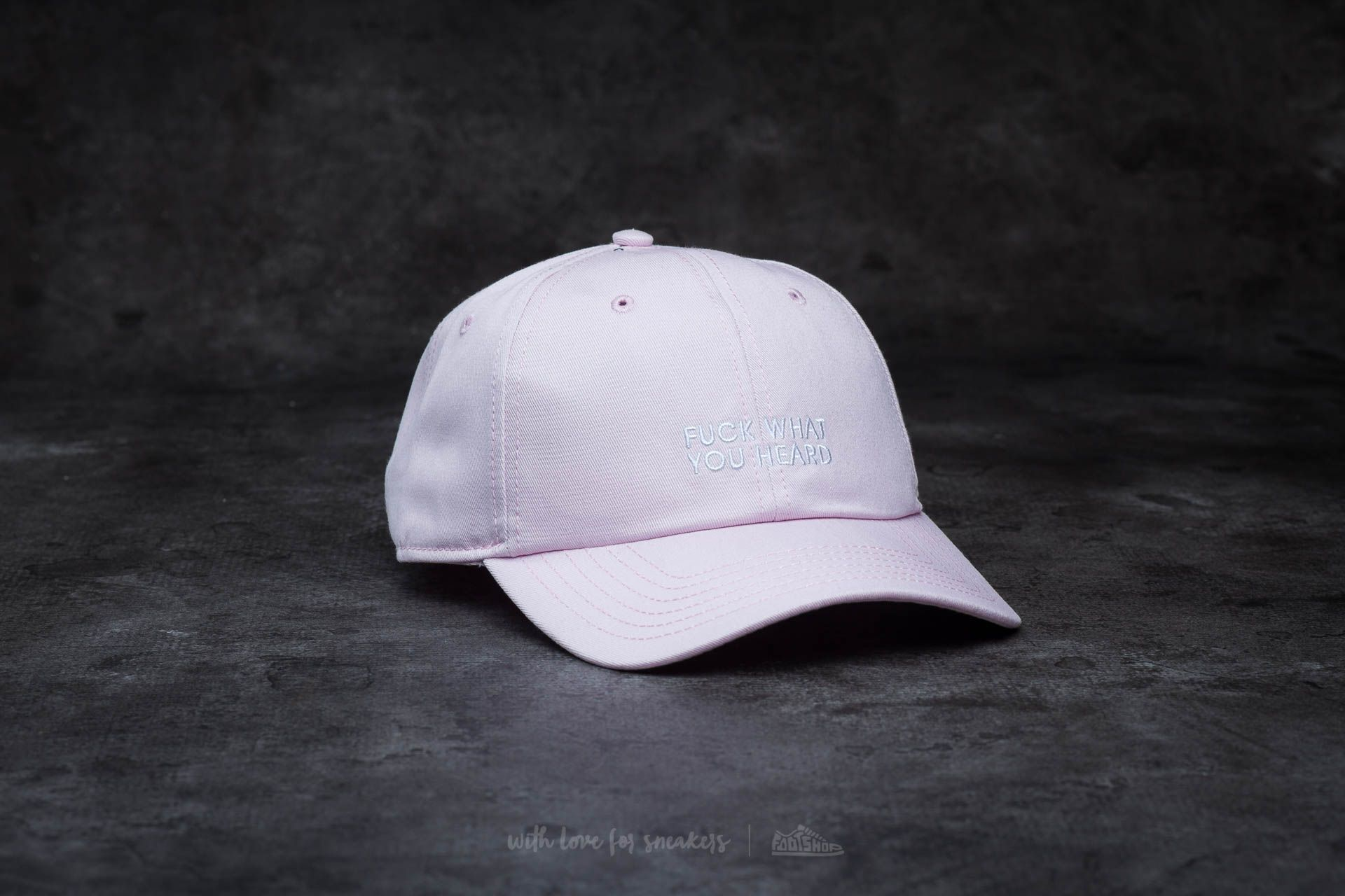 Cayler & Sons BL What You Heard Curved Cap Pink Footshop – FR