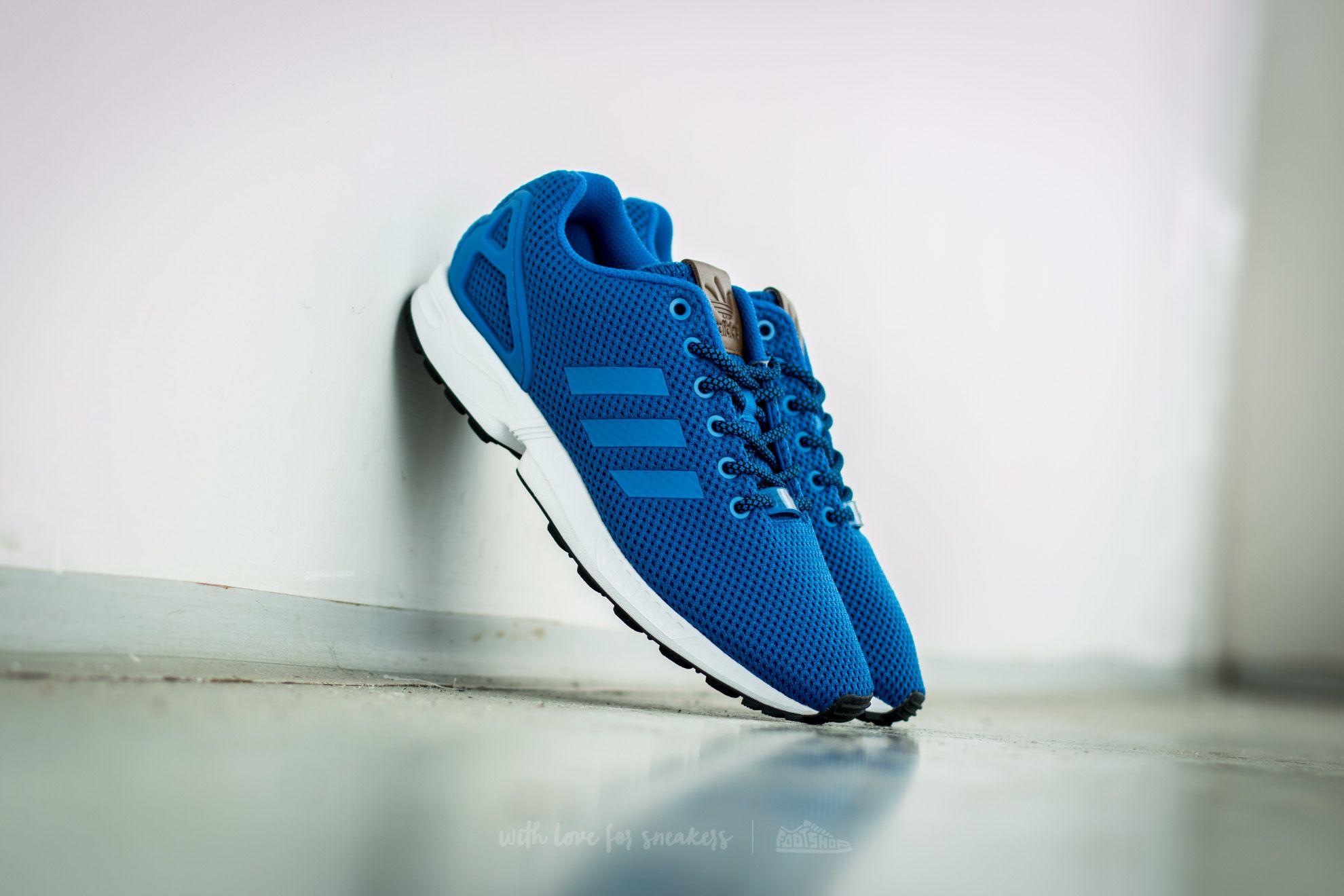 adidas ZX Flux Blue/ Blue/ Ftw White Footshop – FR