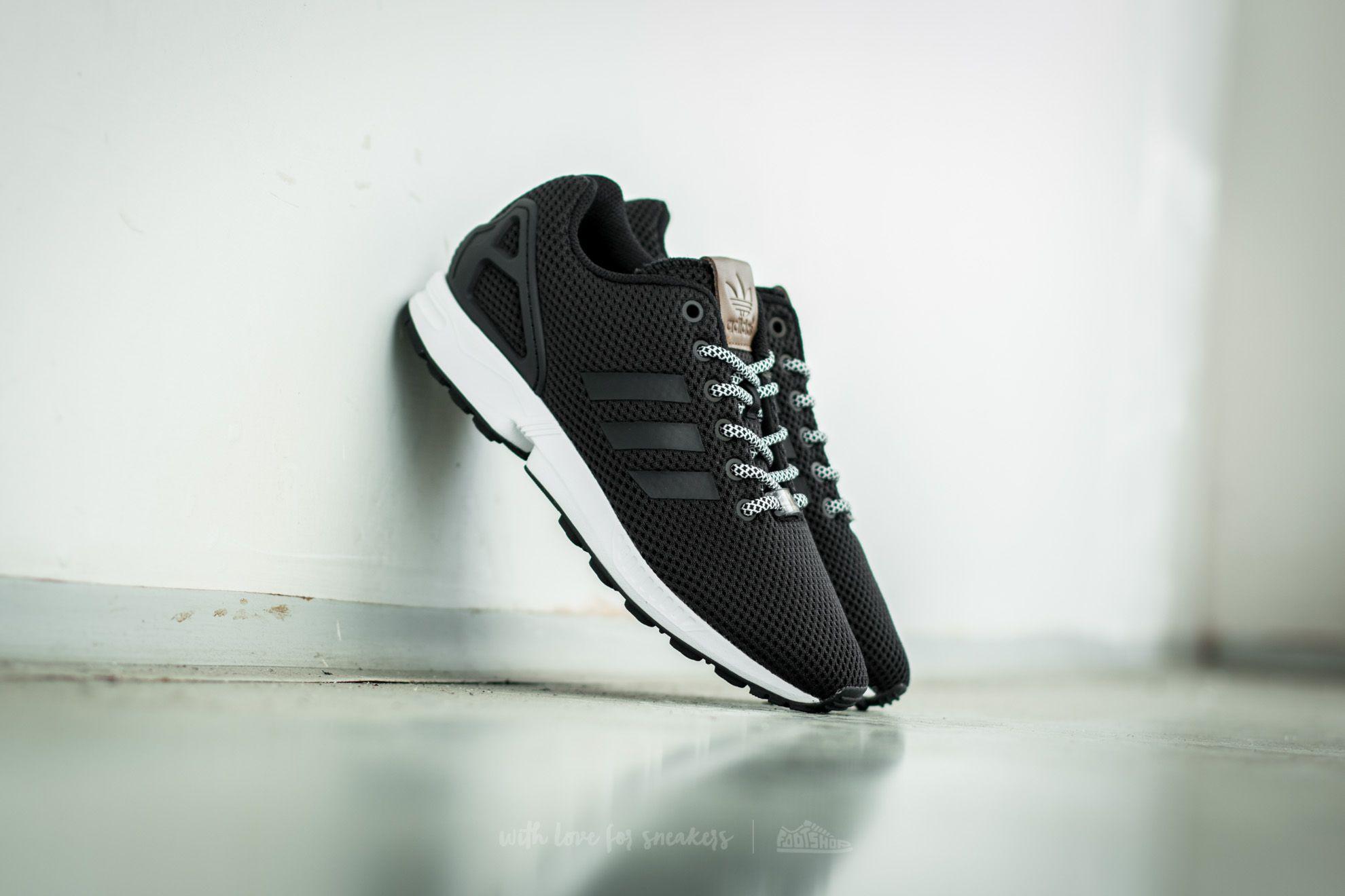 adidas ZX Flux Core Black/ Core Black/ Footwear White Footshop – FR