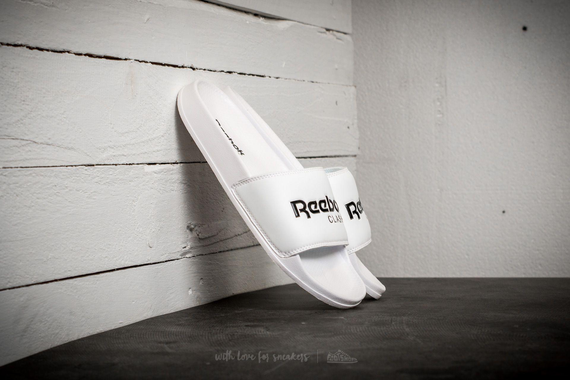 Reebok Classic Slide White/ Black Footshop – FR