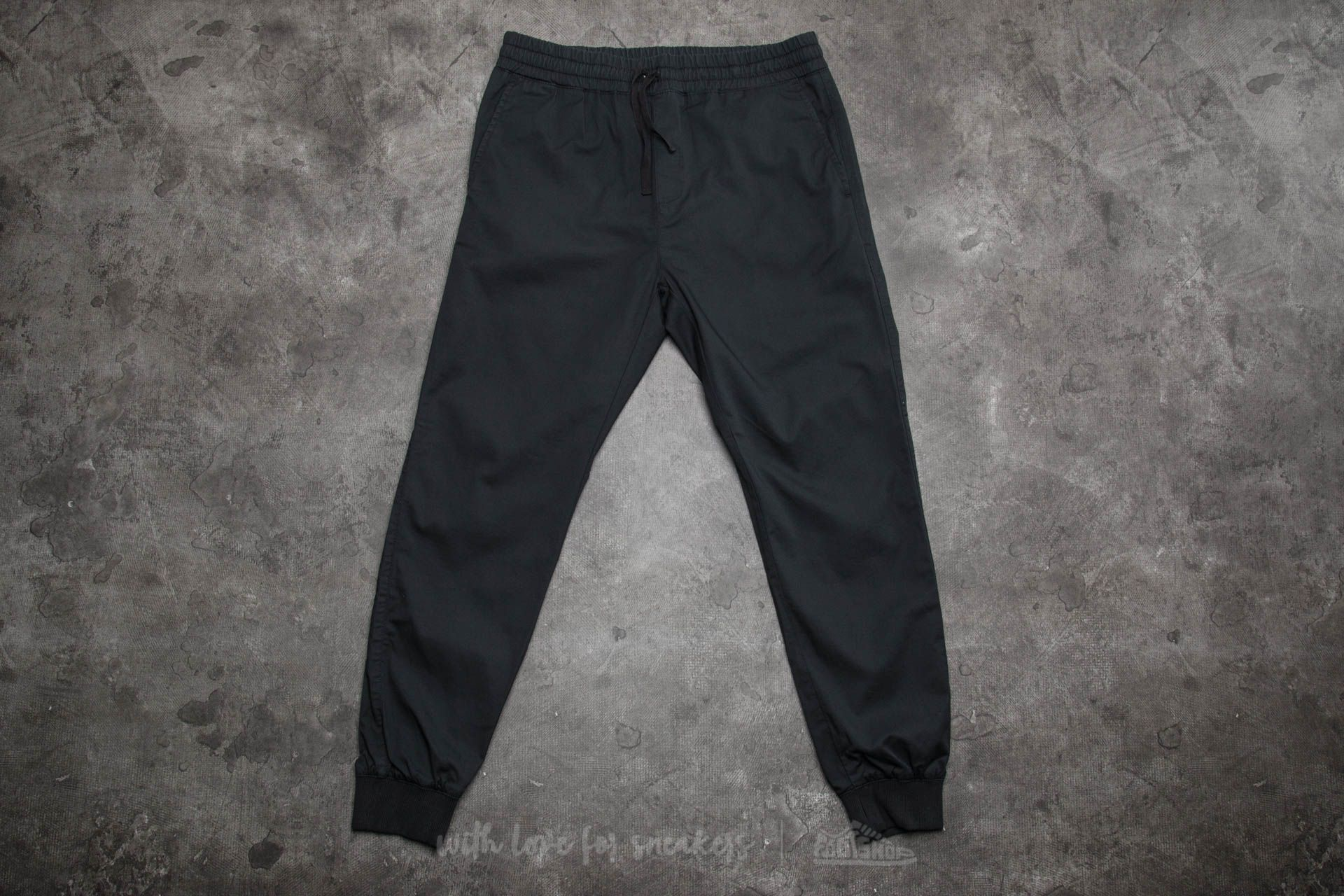 Carhartt WIP Madison Jogger Black Rinsed Footshop – FR