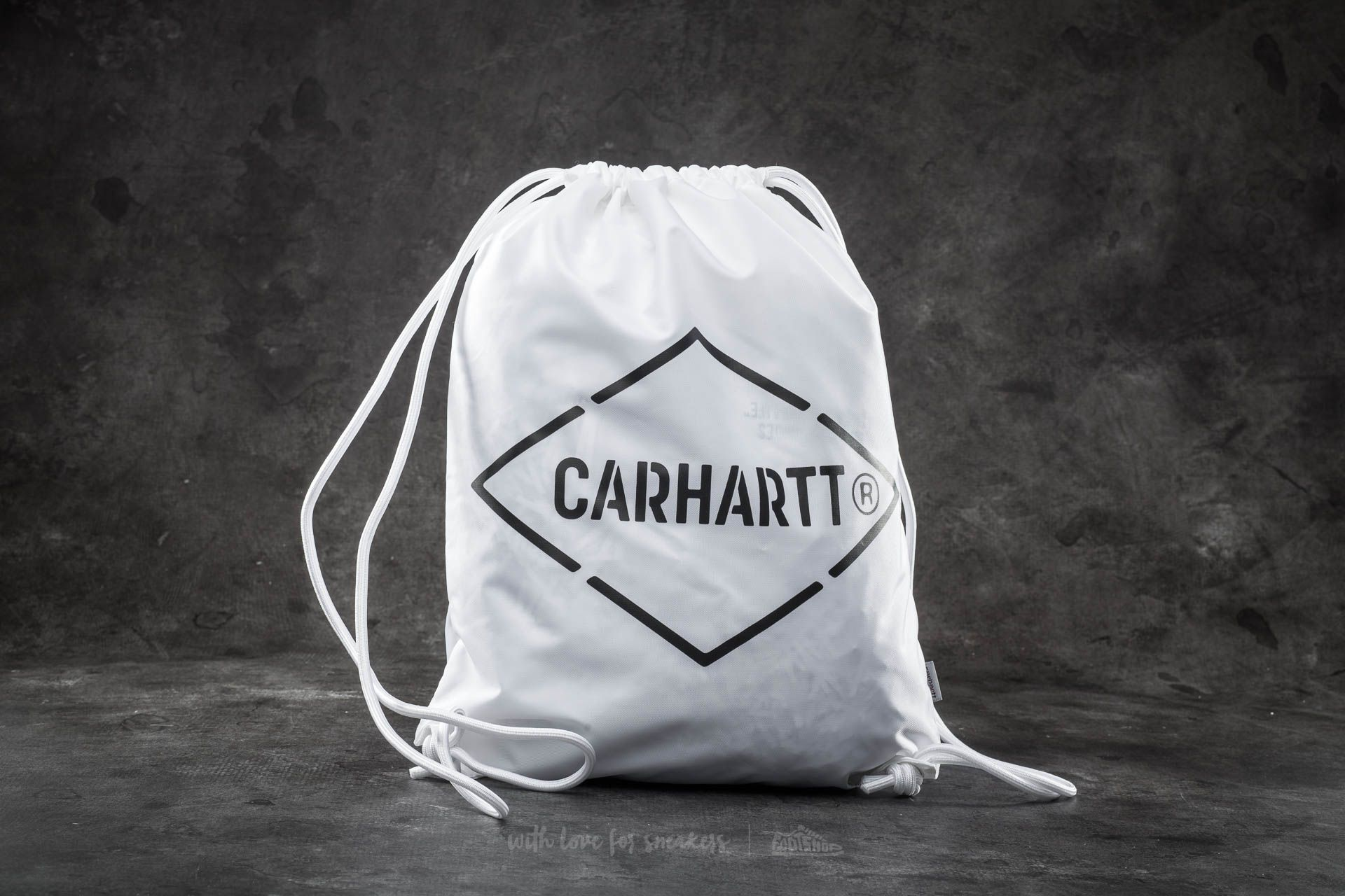 Carhartt WIP Diamond Script Bag White/ Black Footshop – FR