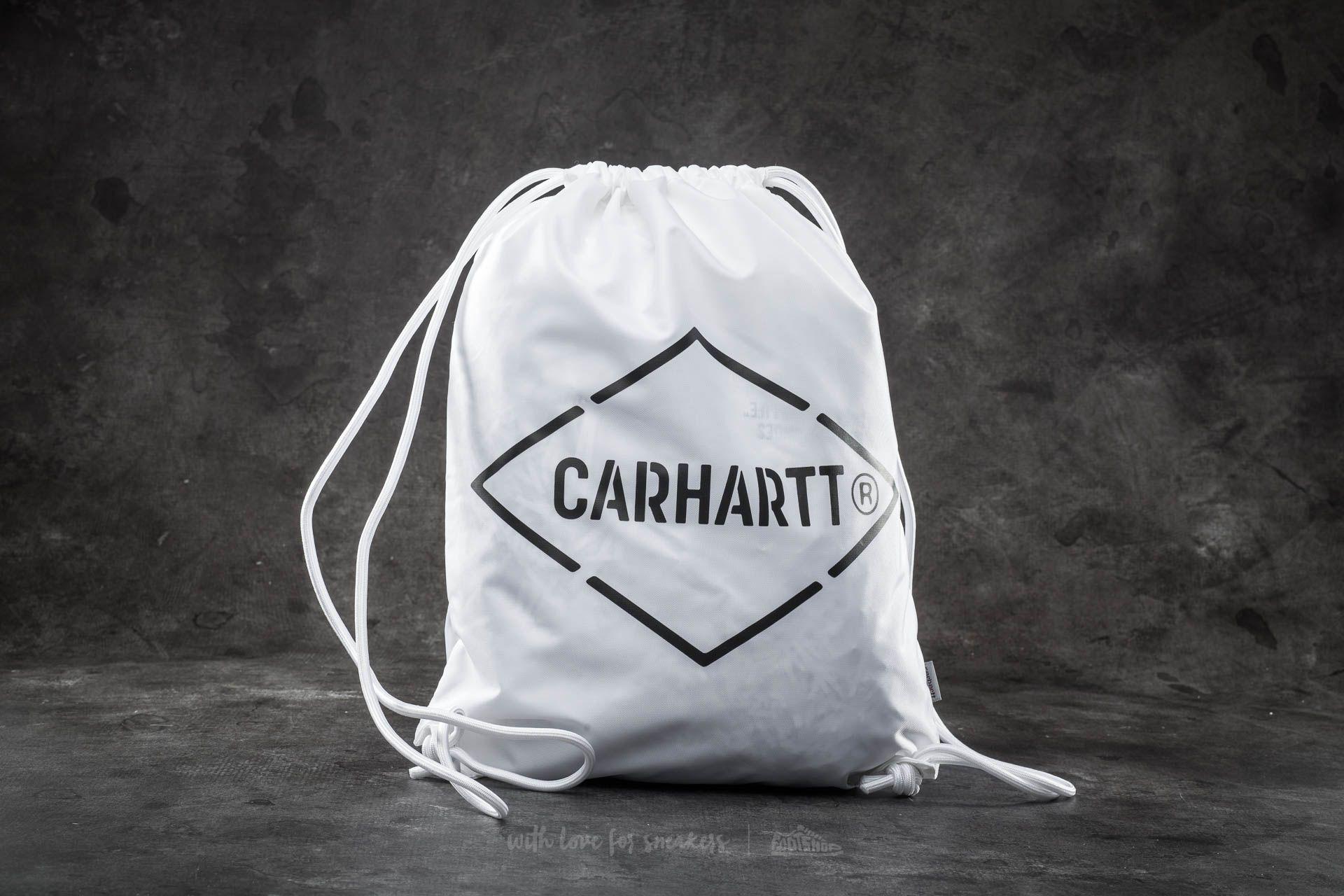 Carhartt WIP Diamond Script Bag White/ Black