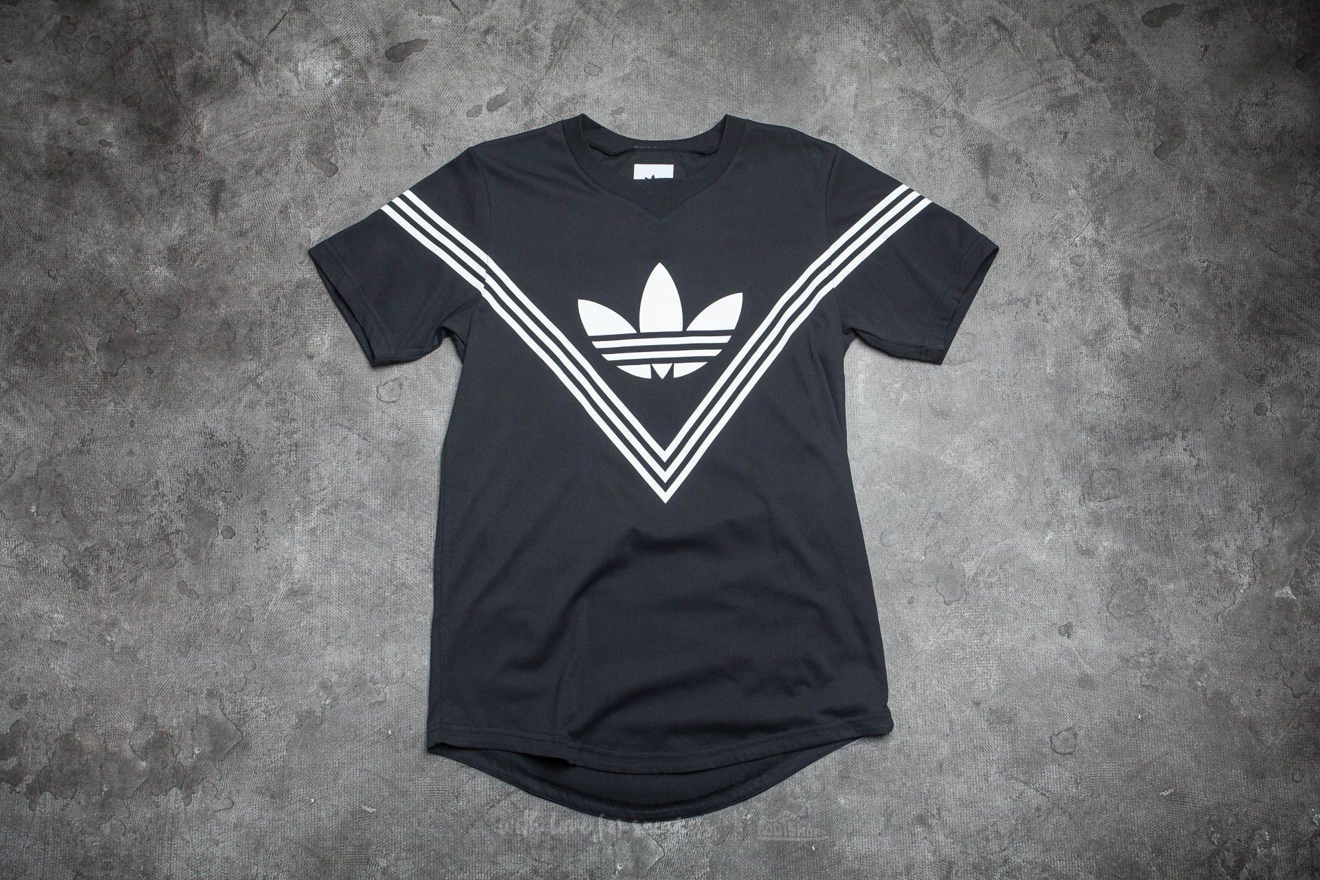 adidas White Mountaineering Logo T-Shirt Black Footshop – FR