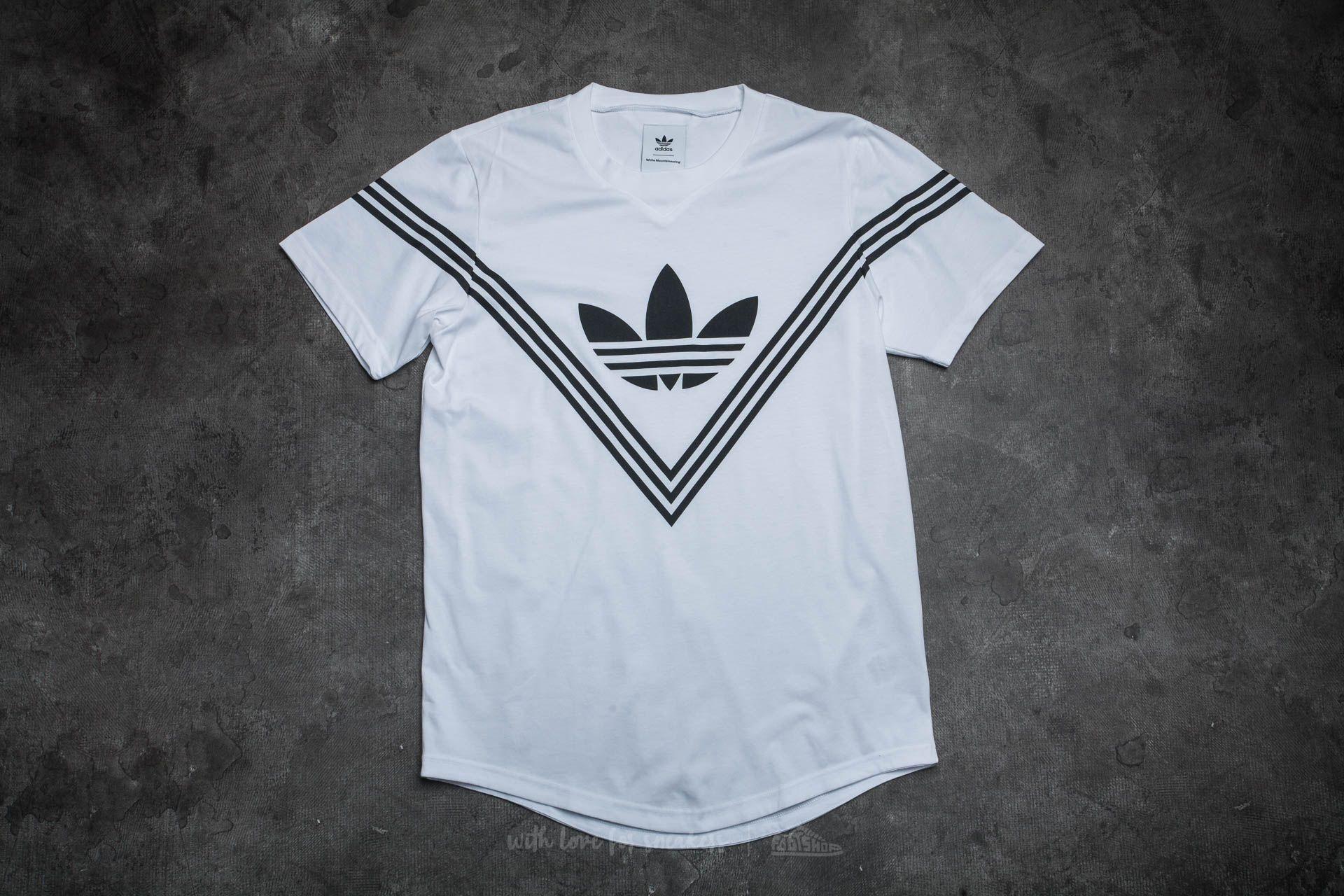 adidas White Mountaineering Logo T-Shirt White Footshop – FR