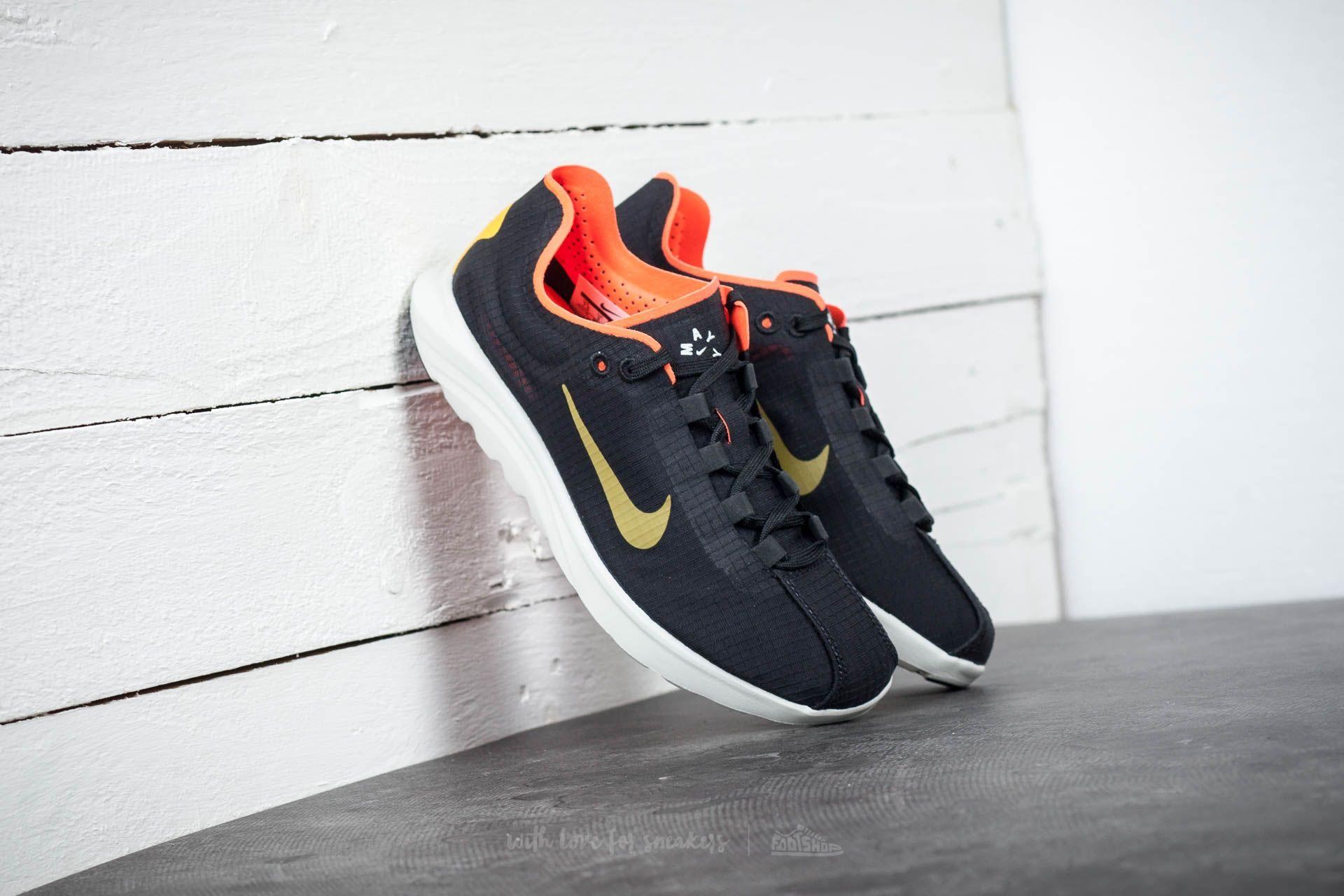 Nike Wmns Mayfly Lite SI Black/ Gold Dart-Total Crimson Footshop – FR