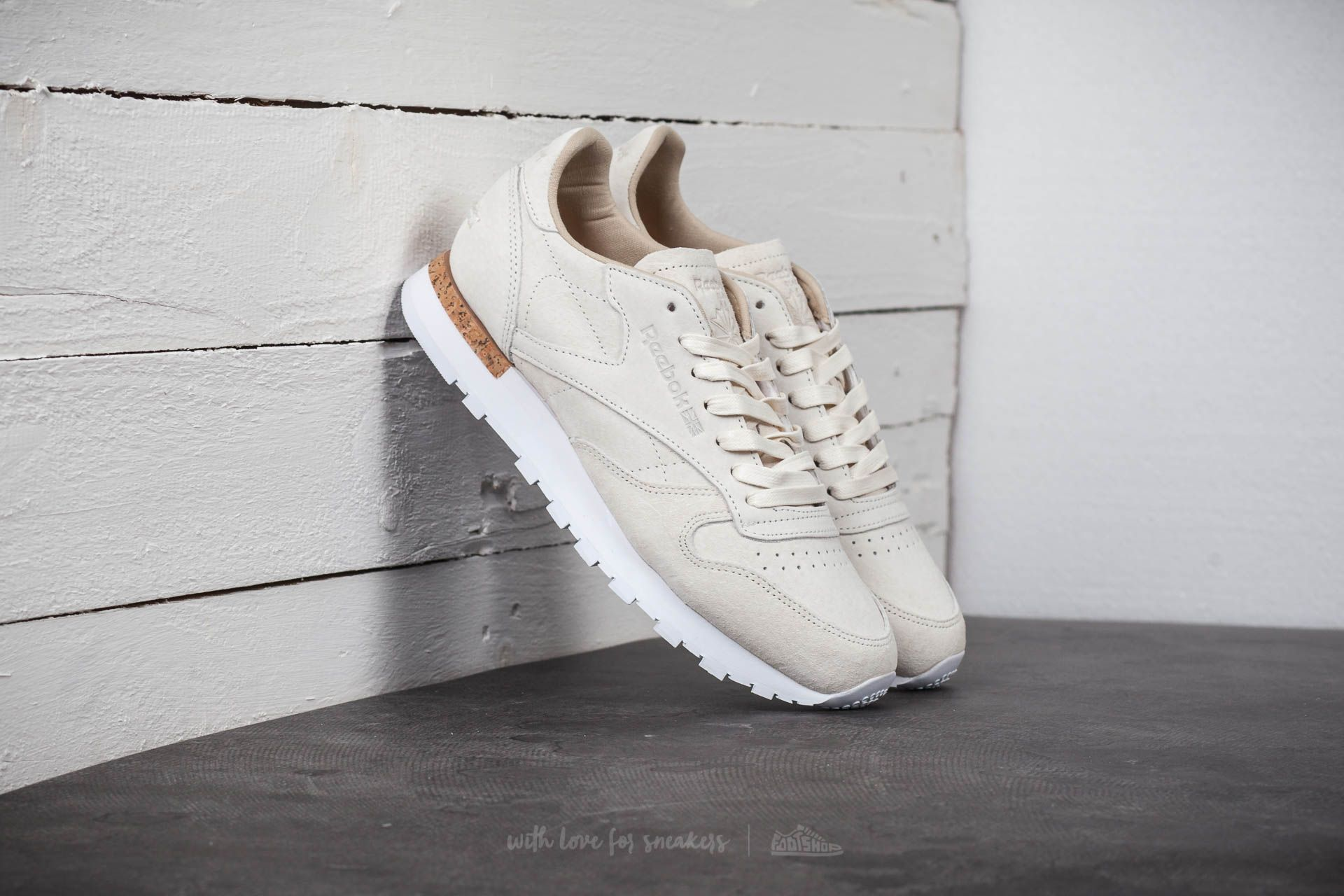 Reebok Classic Leather LST White/ Paperwhite Footshop – FR