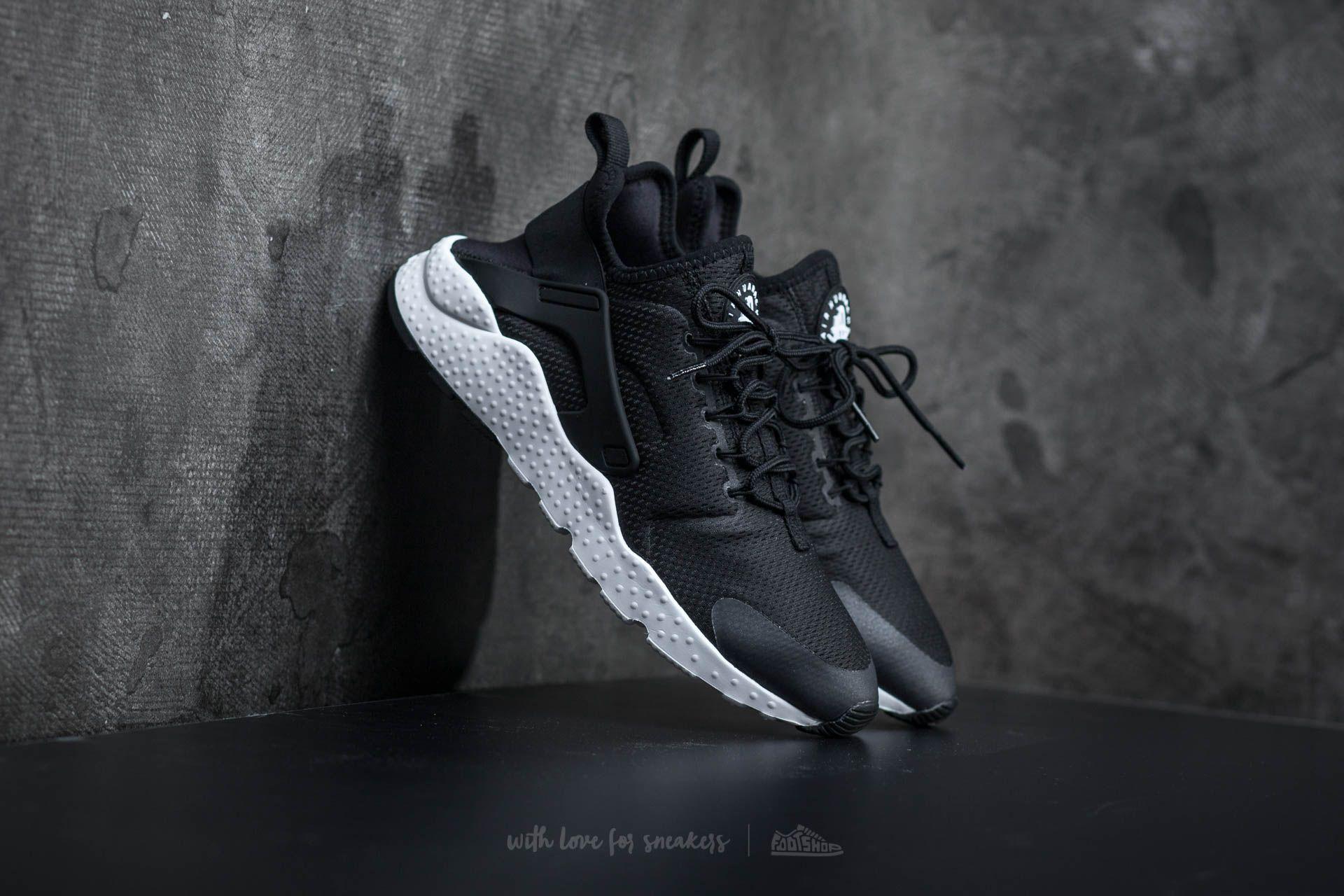 Nike W Air Huarache Run Ultra Black/ Black-Black-White