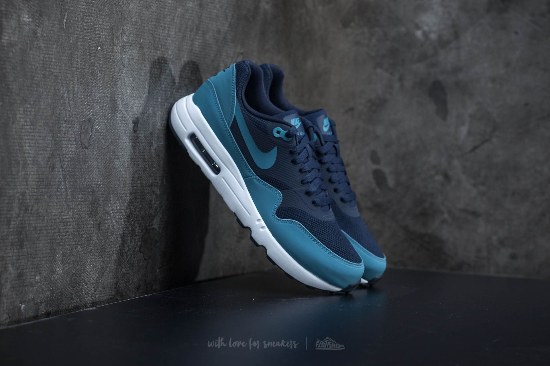 Nike Air Max 1 Ultra 2.0 Essential Obsidian/ Smokey Blue Footshop – FR