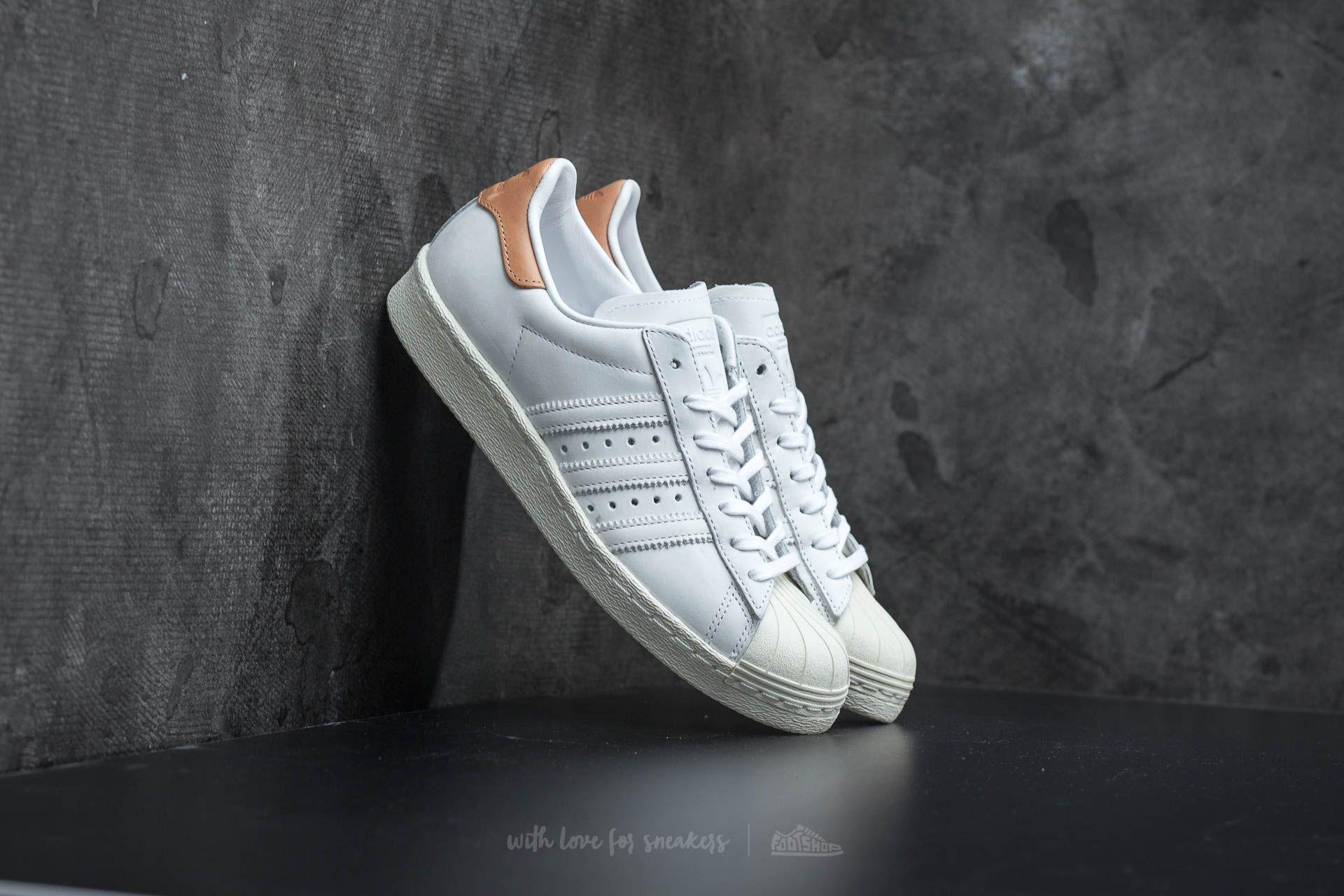 adidas Superstar 80s W Footwear White/ Footwear White/ Off White Footshop – FR