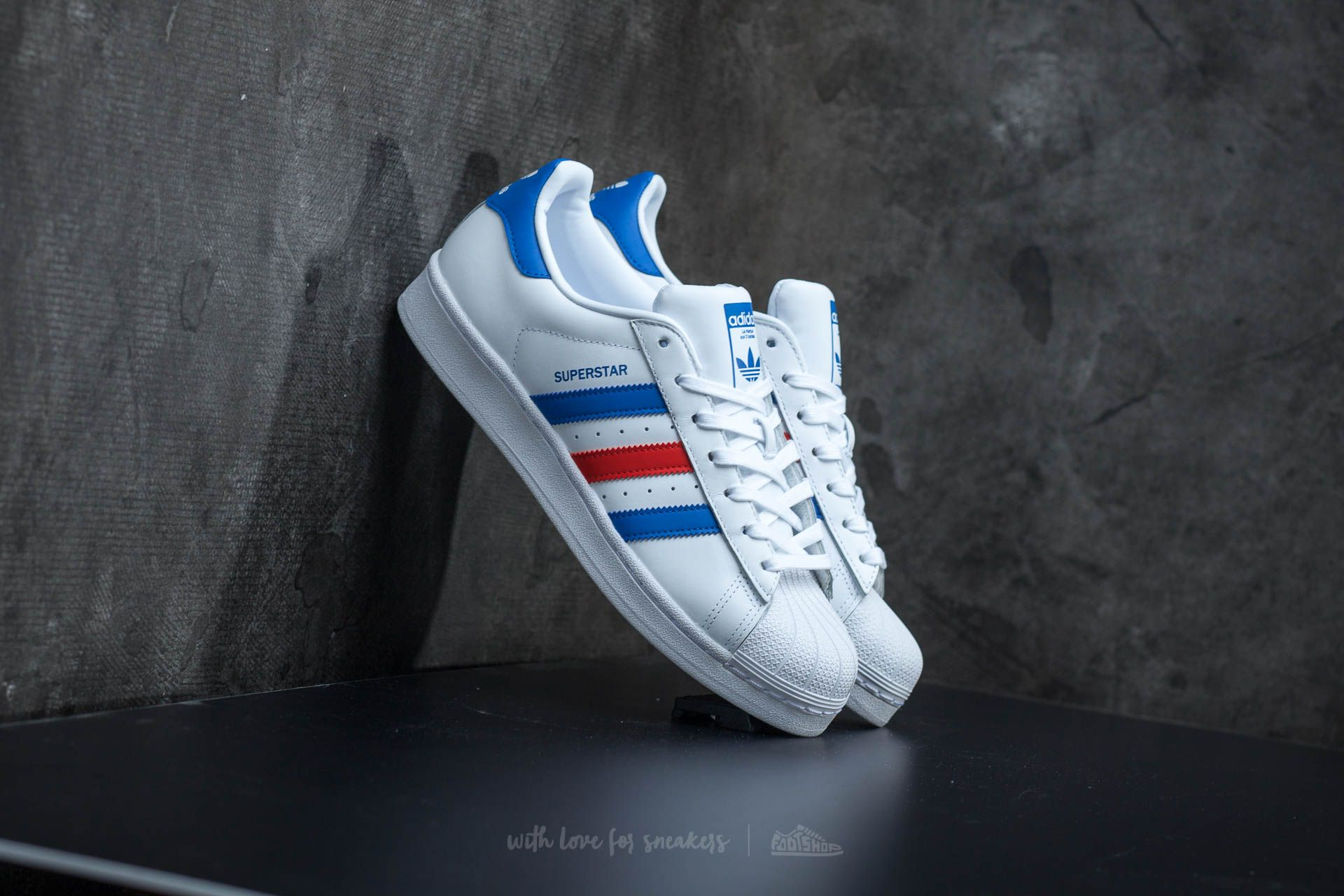 adidas Superstar Ftw White/ Blue/ Red Footshop – FR
