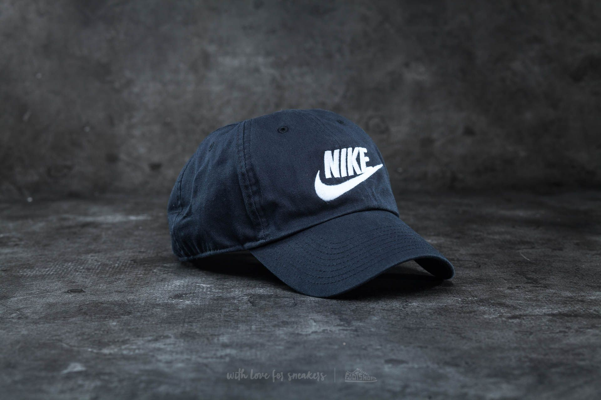 Nike Futura Washed H86 Cap Black/ White Footshop – FR