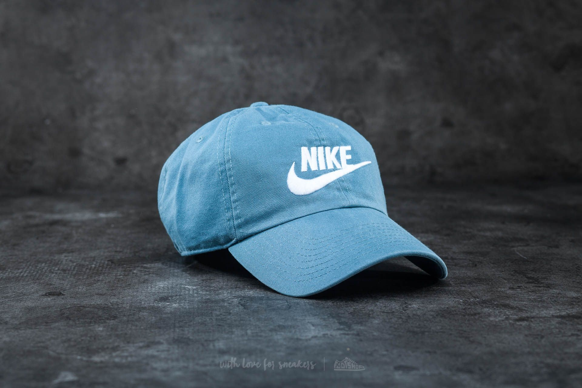 Nike Futura Washed H86 Cap Smokey Blue/ White Footshop – FR