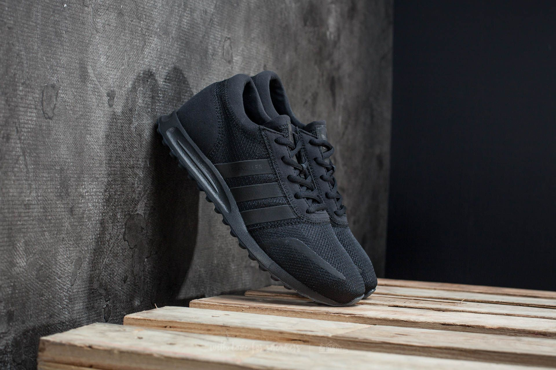 adidas Los Angeles Core Black/ Core Black Footshop – FR