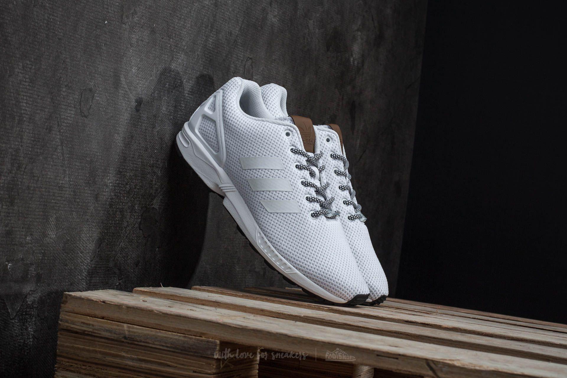 adidas ZX Flux Ftw White/ Ftw White Footshop – FR