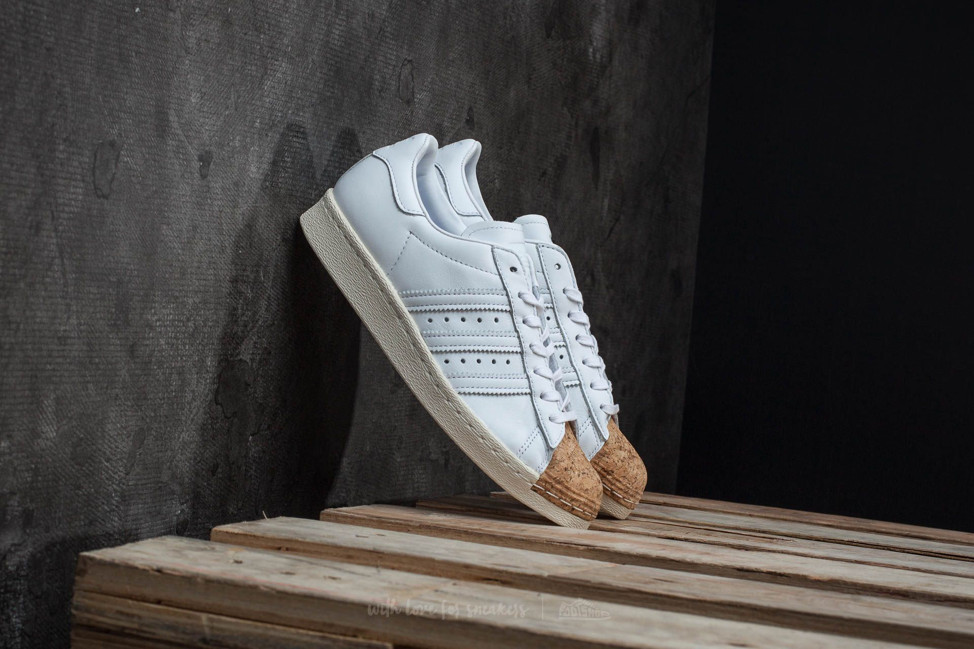adidas Superstar 80s Cork W Ftw White/ Ftw White/ Off White