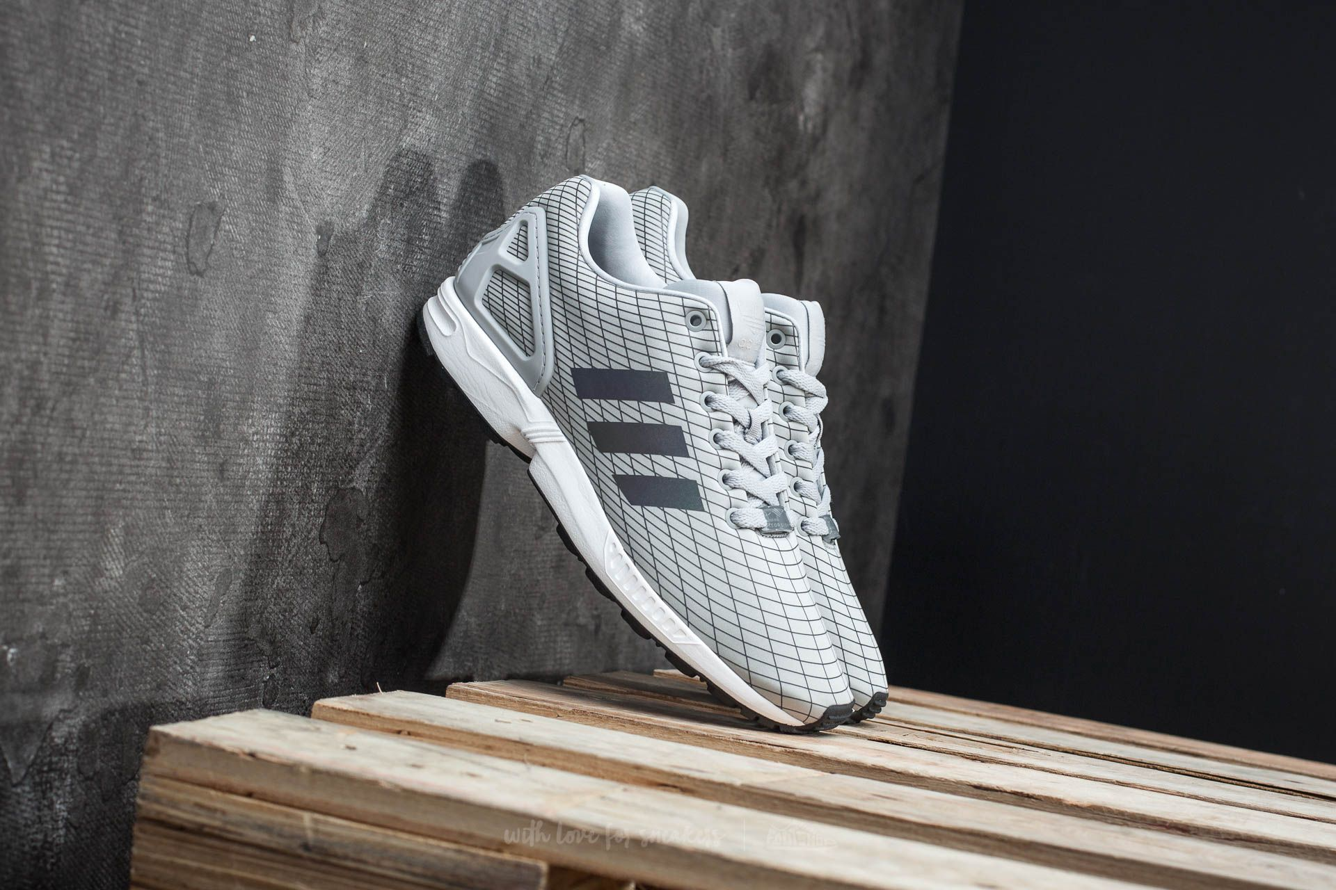 adidas ZX Flux Clear Onix/ Ftw White/ Vison Grey Footshop – FR