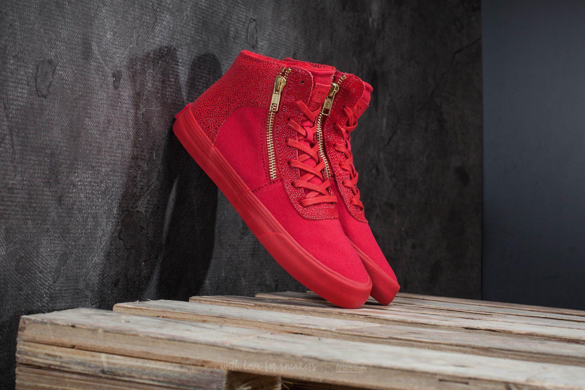 Supra Cuttler Risk-Red Footshop – FR