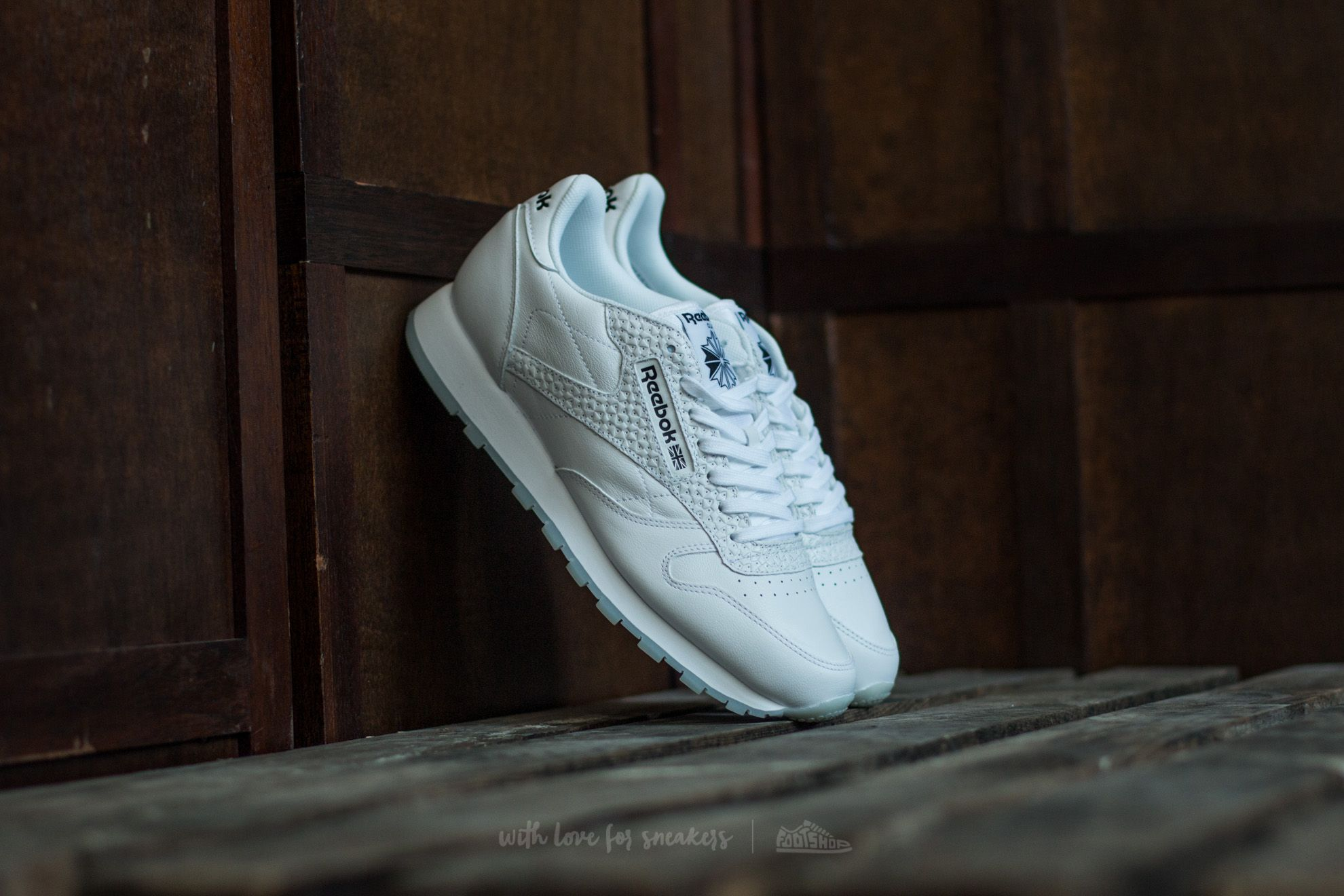 Reebok Classic Leather ID White/ Black Footshop – FR