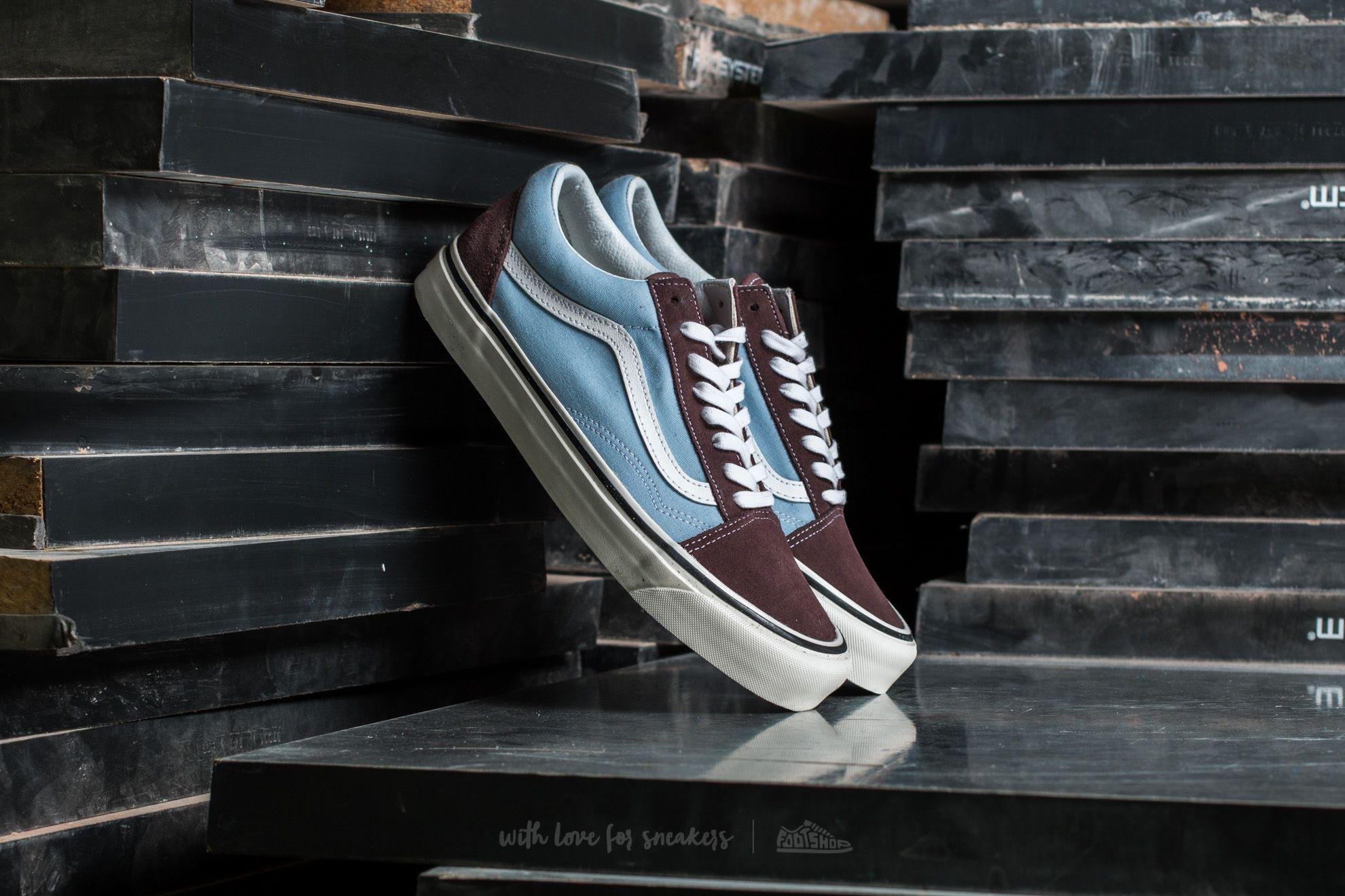 Vans Old Skool 36 DX (Anaheim Factory) Brown/ Light Blue Footshop – FR