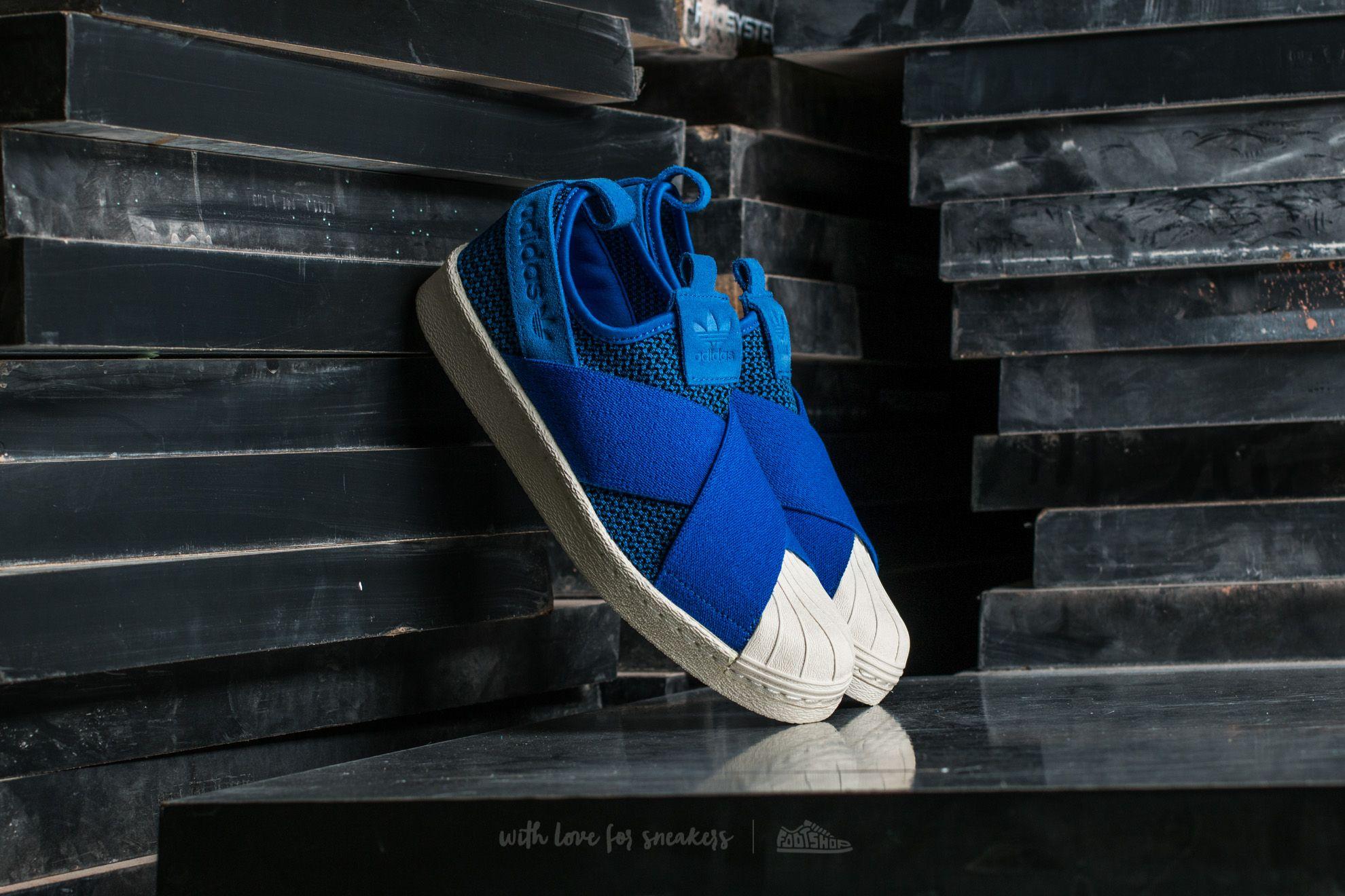 adidas Superstar SlipOn W Blue/ Blue/ Off White Footshop – FR