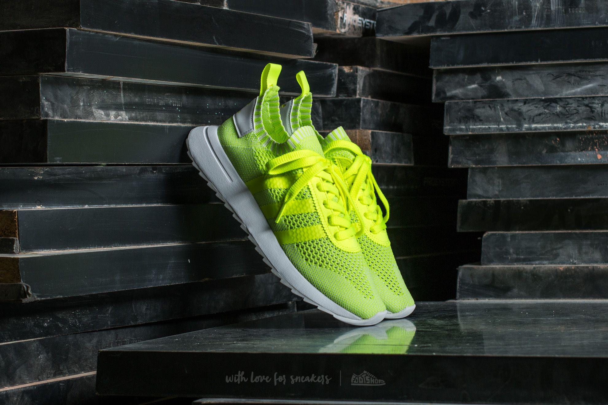 adidas FLB W Primeknit Solar Yellow/ Solar Yellow/ Ftw White Footshop – FR