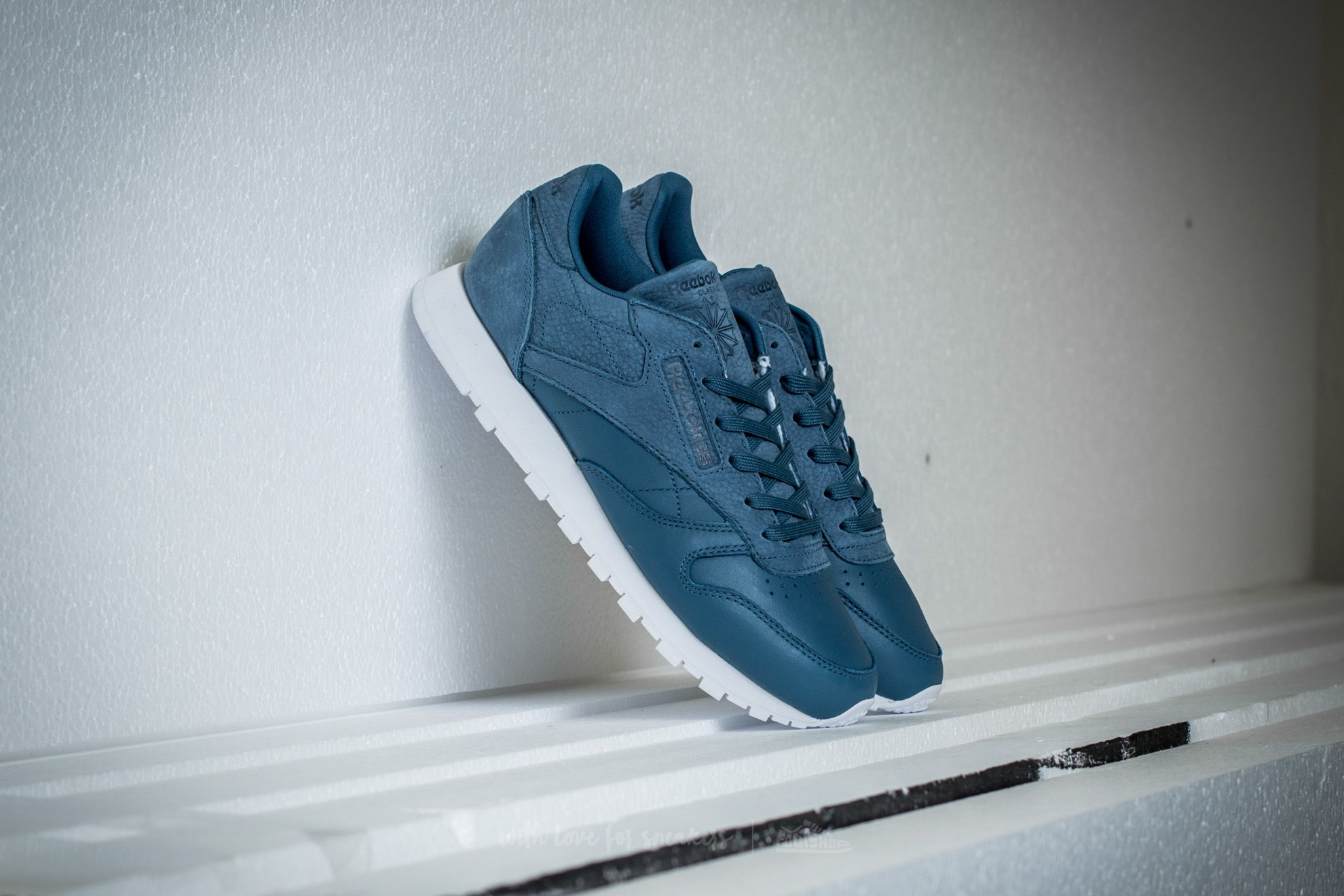 Reebok Classic Leather Sea You Later Brave Blue/ White Footshop – FR