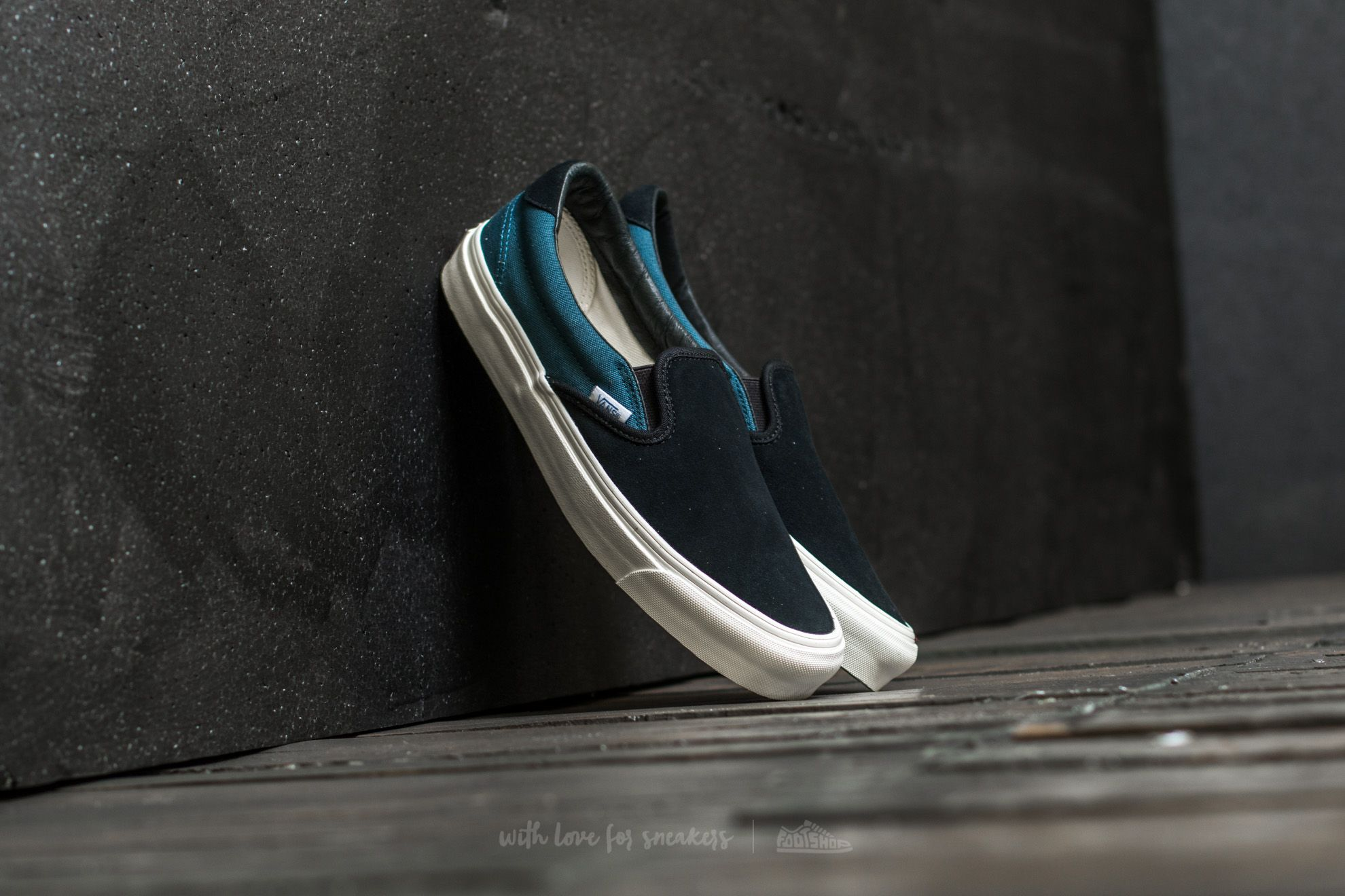 Vans OG Slip-On 59 LX (Canvas/Suede) Star Gazer Footshop – FR