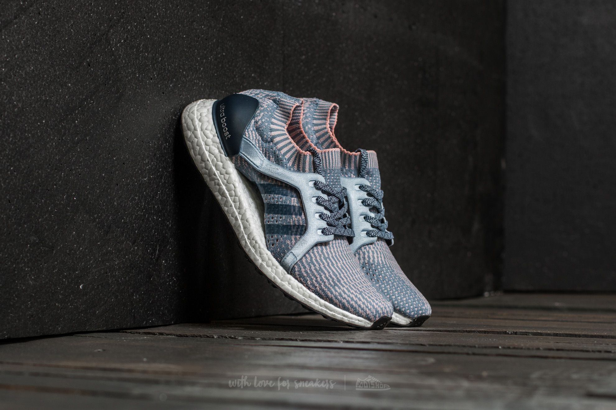adidas Ultra Boost X Tactile Blue/ Easy Blue/ Haze Coral Footshop – FR