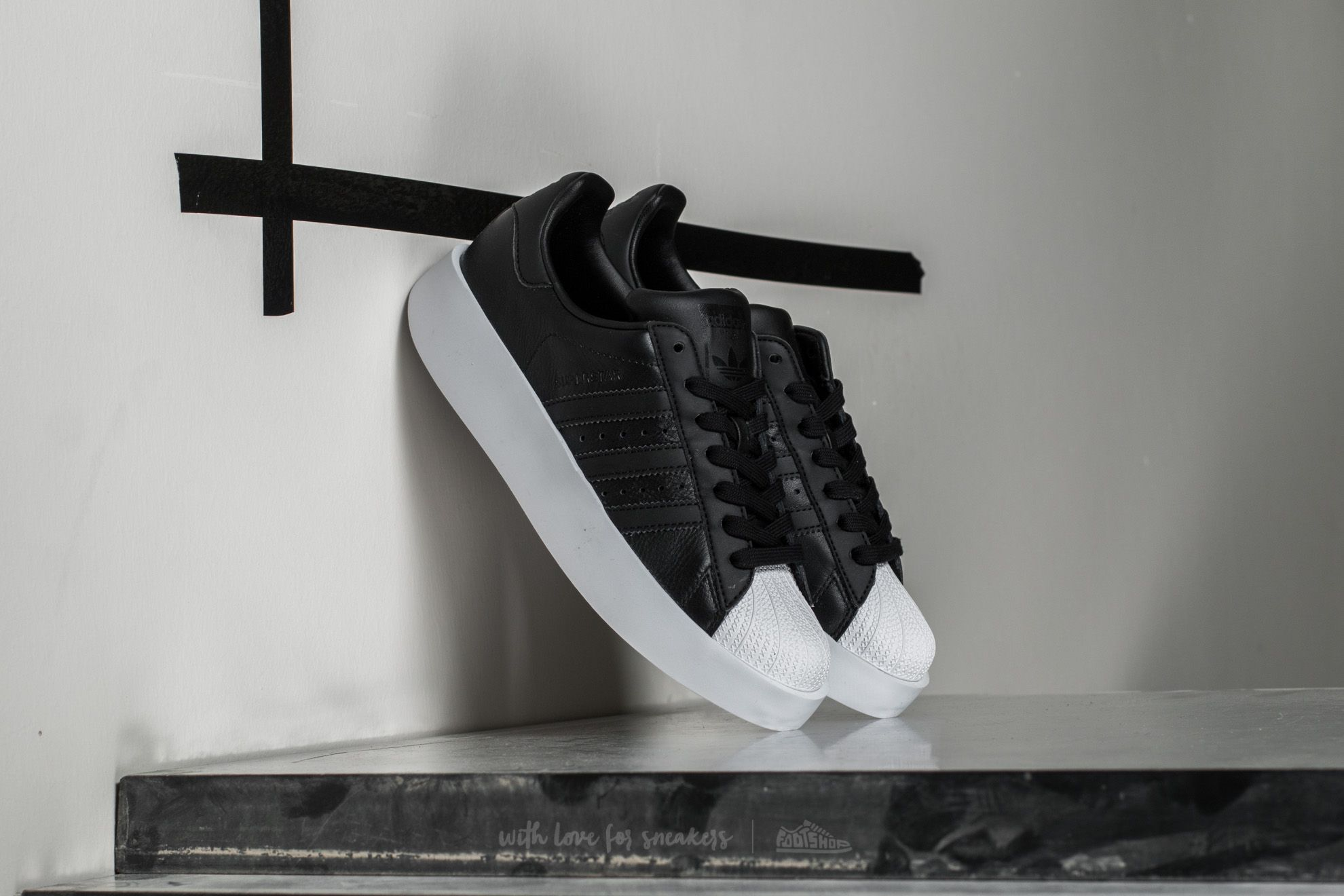 adidas Superstar Bold W Core Black/ Core Black/ Ftw White Footshop – FR