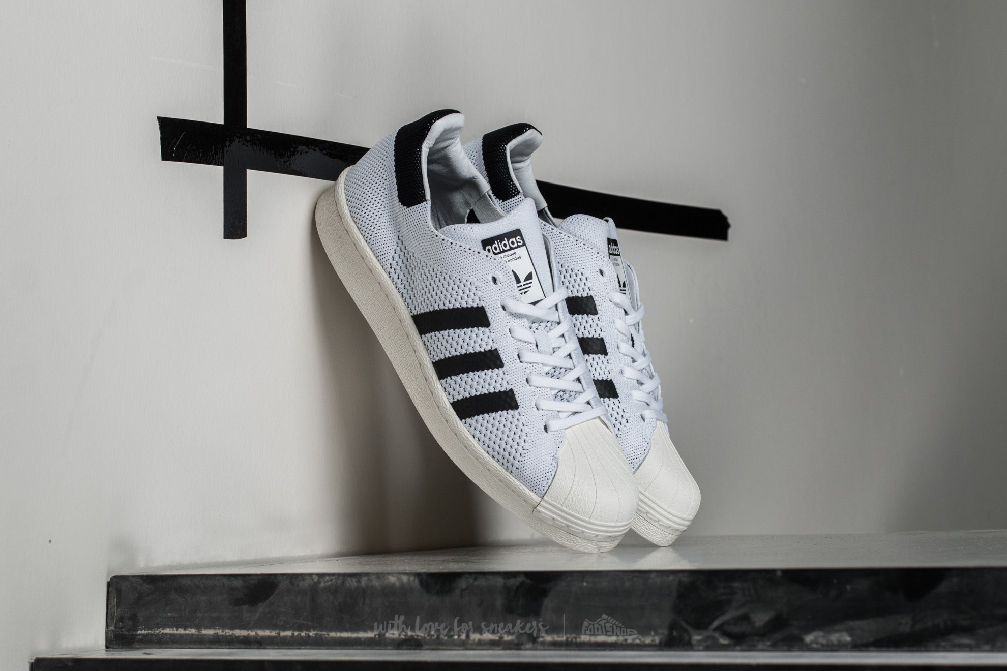 adidas Superstar BOOST PK Ftw White/ Core Black/ Off White Footshop – FR