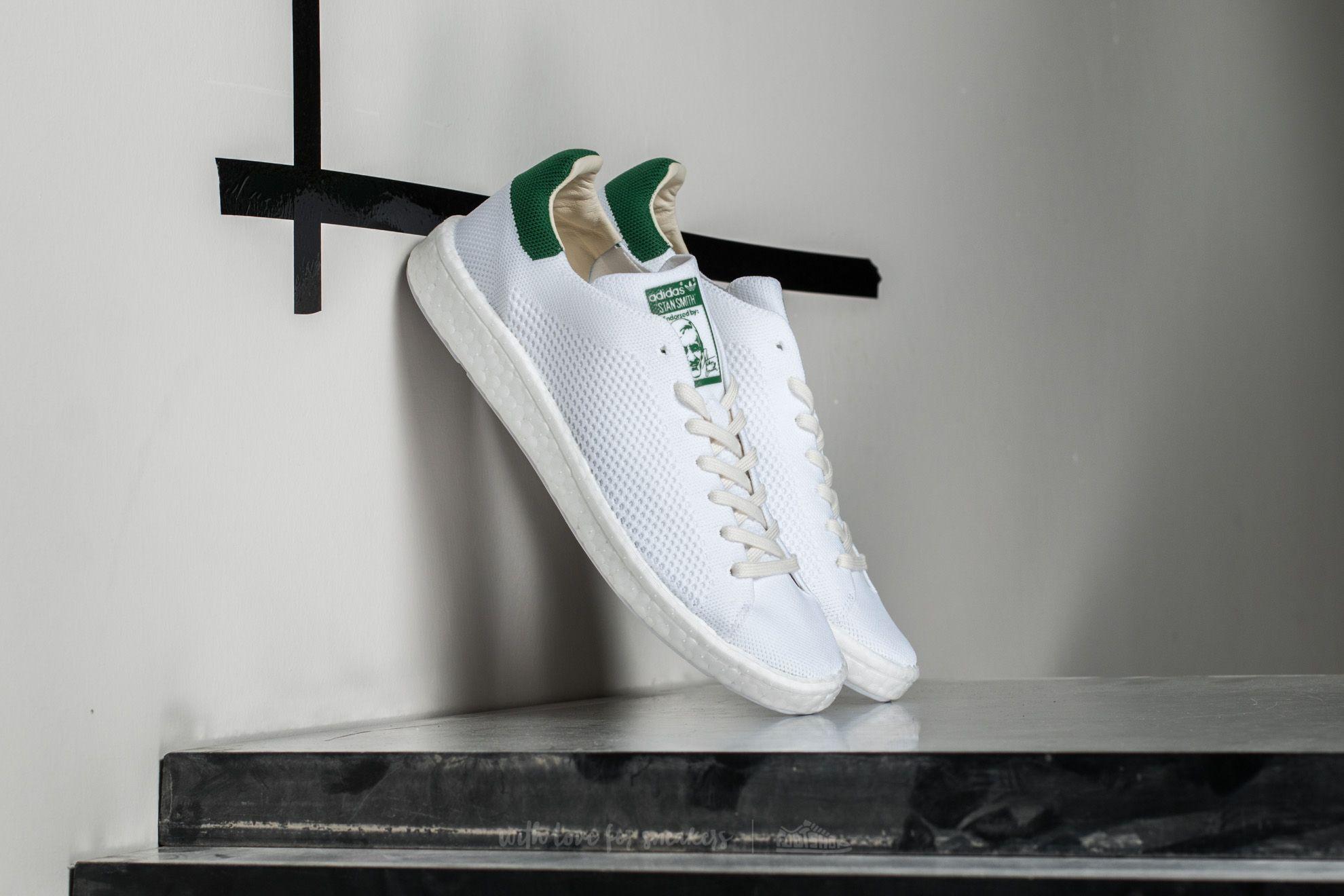 adidas Stan Smith Primeknit Ftw White/ Ftw White/ Green Footshop – FR