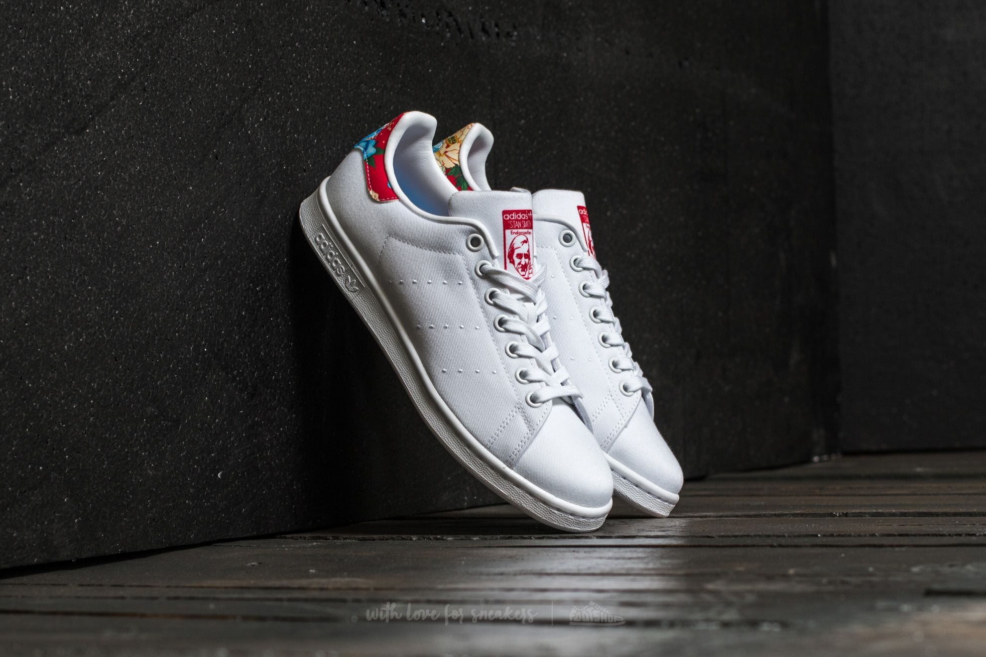 adidas Stan Smith W Ftw White/ Ftw White/ Power Red Footshop – FR