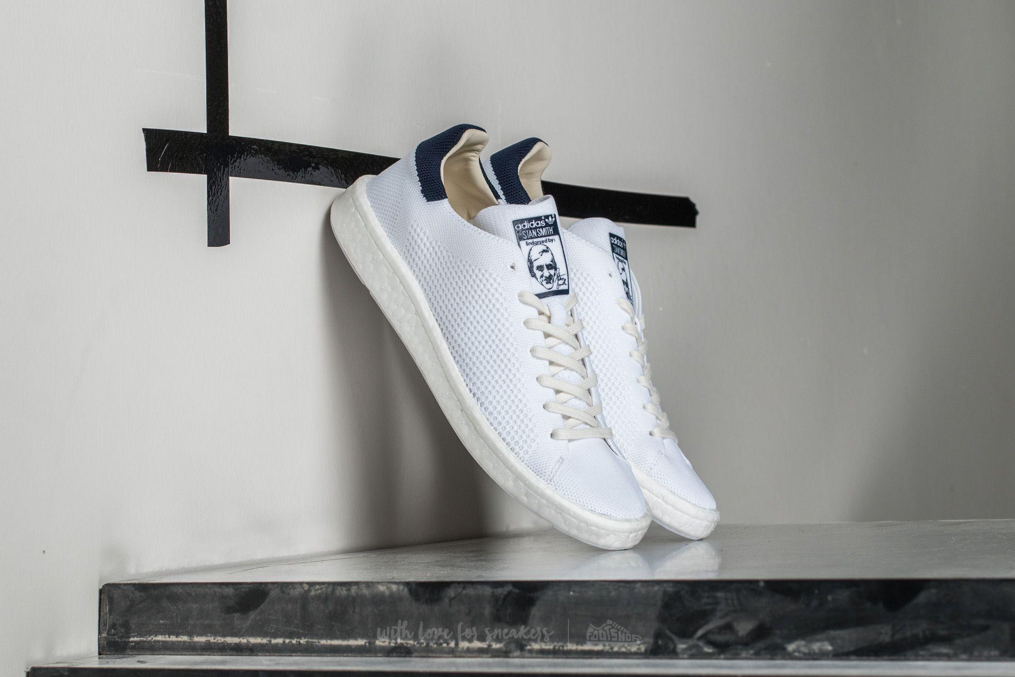 adidas Stan Smith Primeknit Ftw White / Ftw White/ Core Navy Footshop – FR