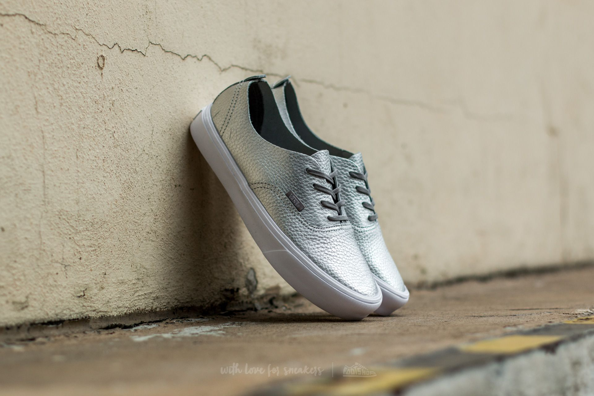 Vans Authentic Decon (Leather) Silver Footshop – FR