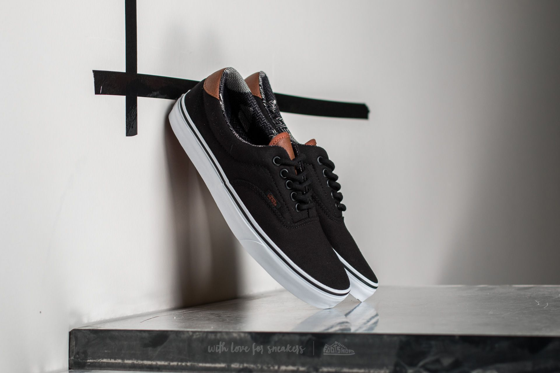 Vans Era 59 (C&L) Black/ Material Mix Footshop – FR