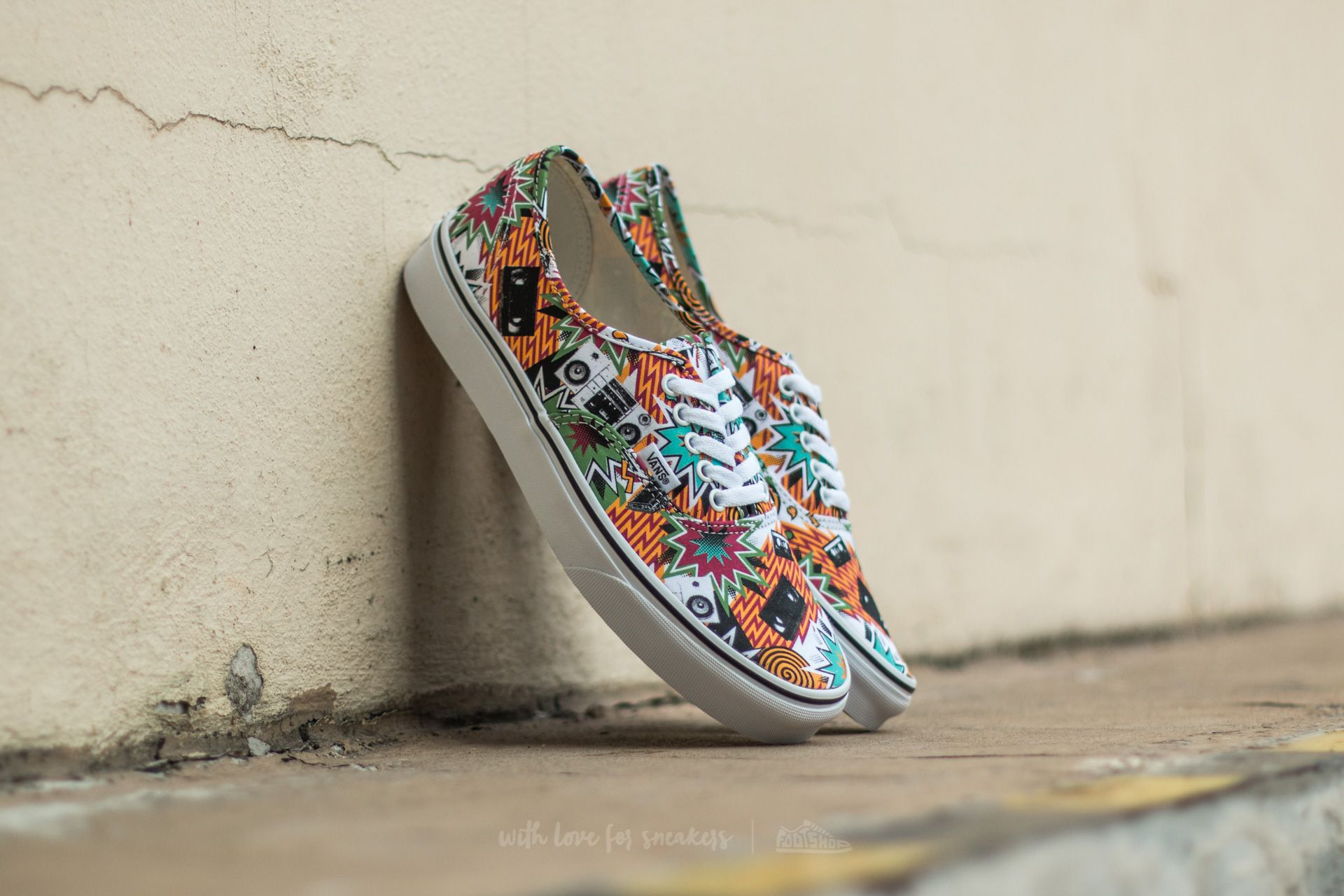 Vans Authentic (Freshness) Mixed Tape/ True White